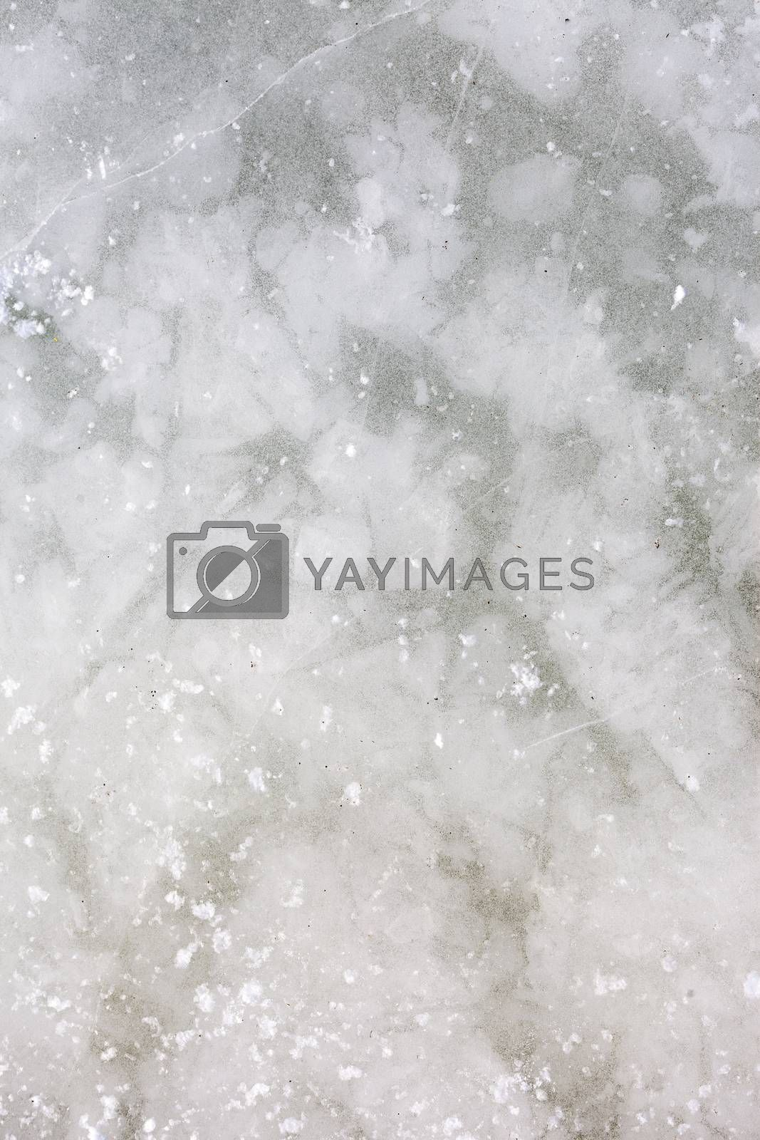 The Ice Background. Ice From Top Of