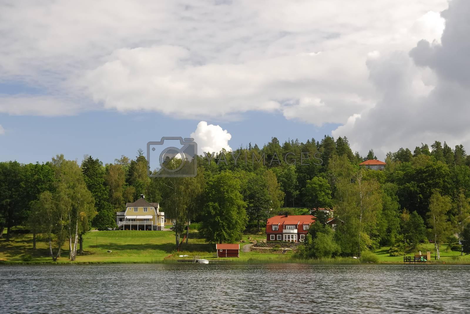 Summer house in Sweden.