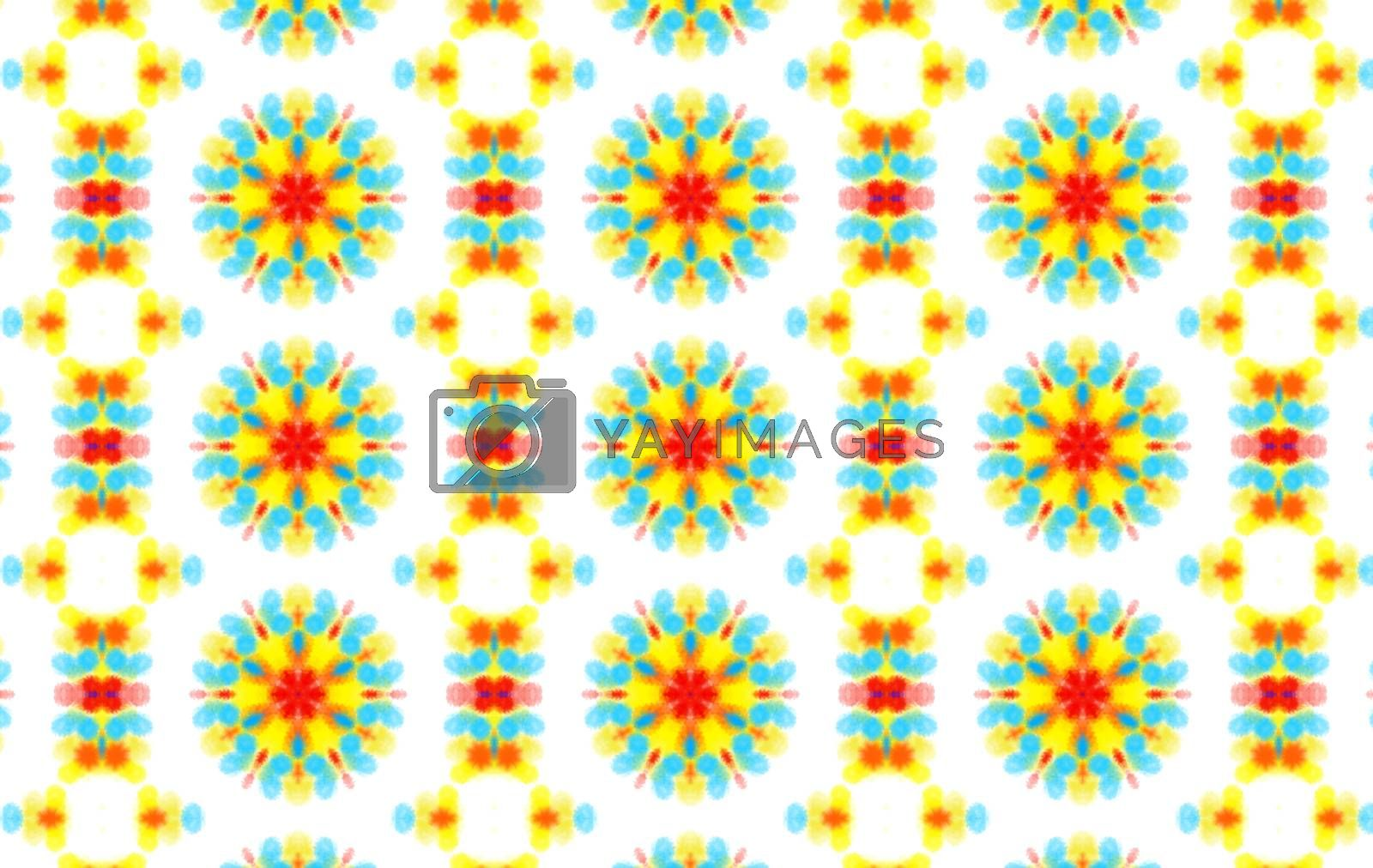 Background with abstract colorful pattern