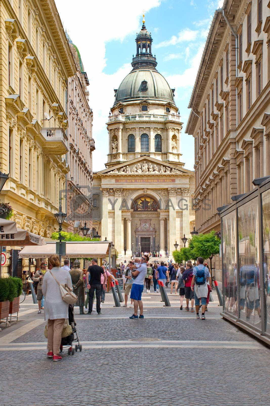 St. Stephan basilica, Budapest Hungary