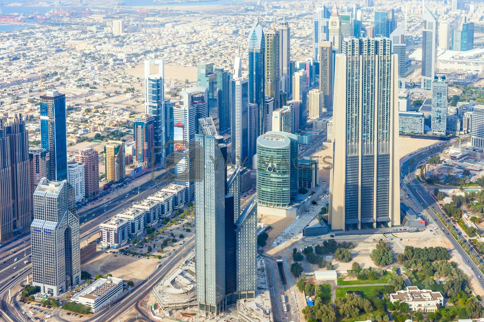 The Buildings In The Emirate Of Dubai