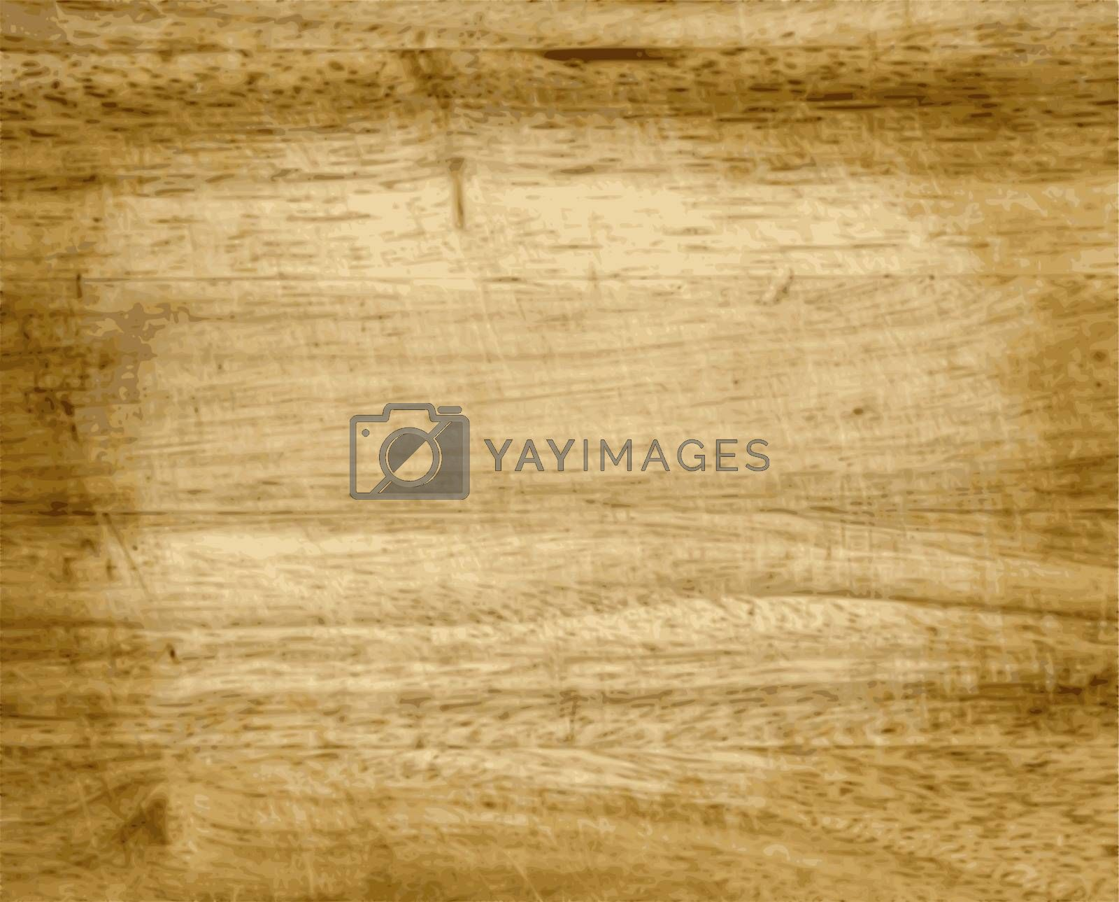 Vector Brown Wood Texture With Natural Patterns