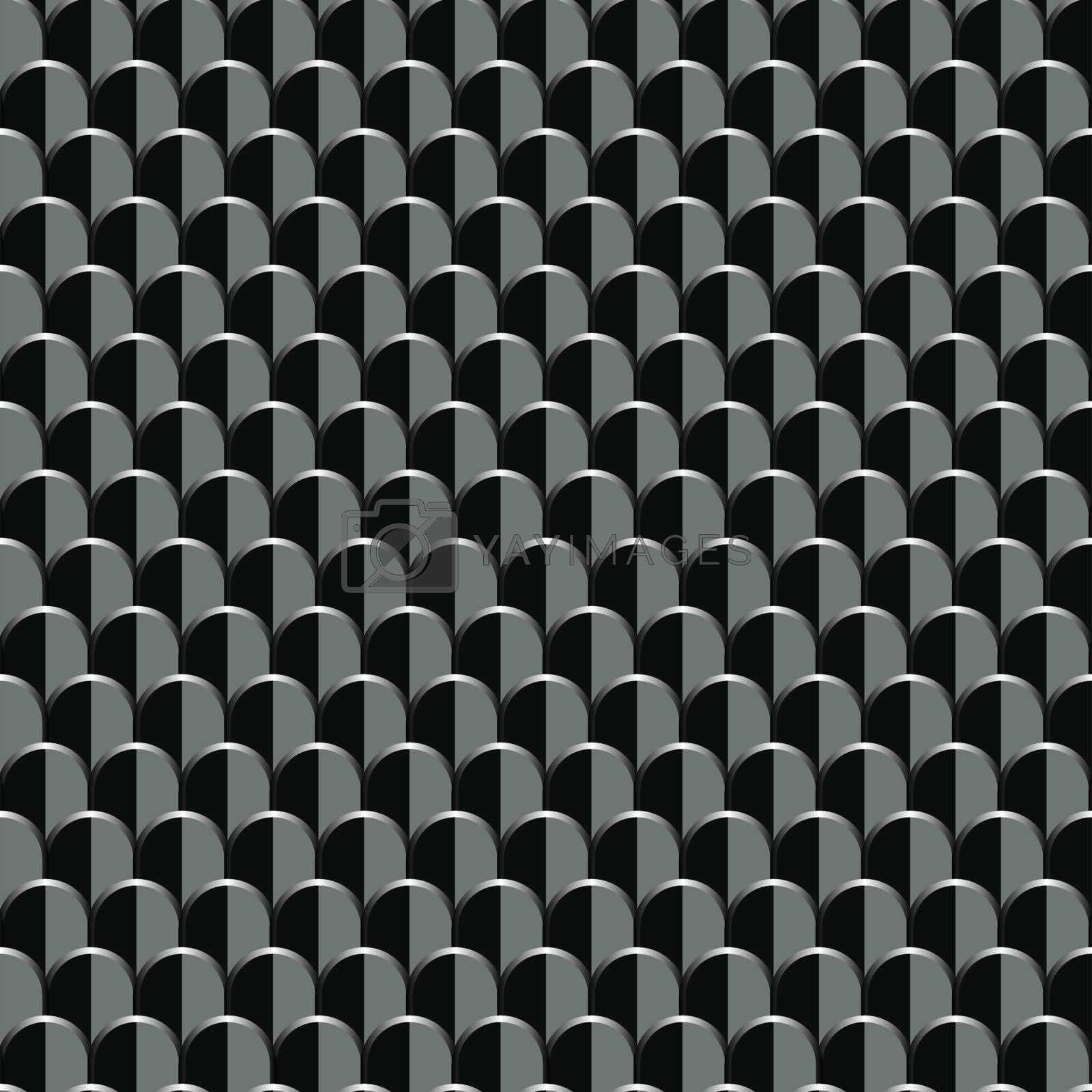 Plate. Seamless pattern. Abstract background.