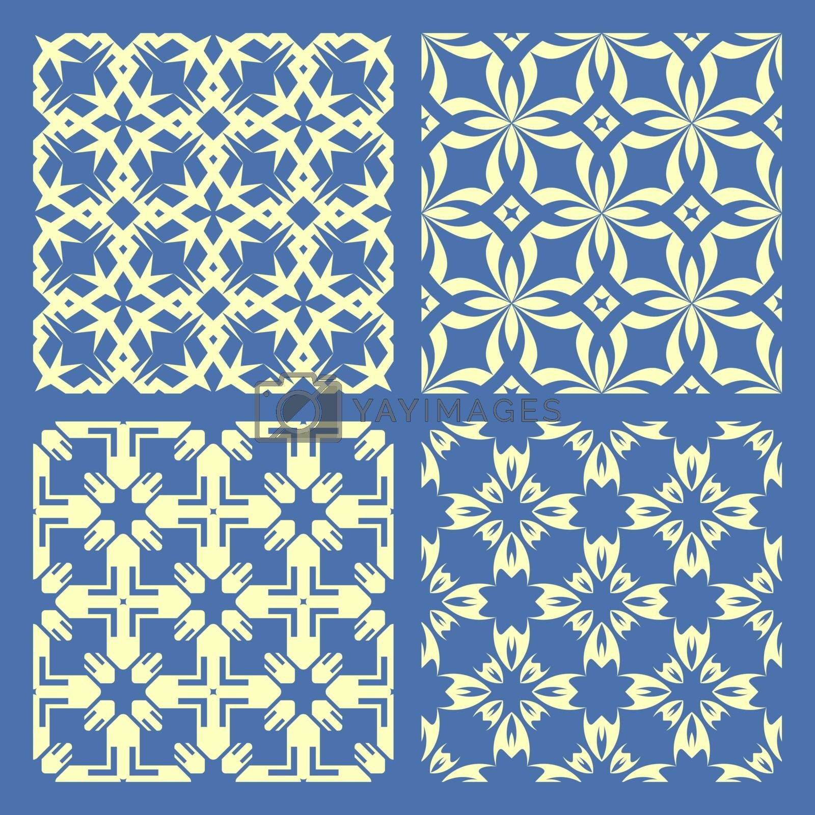 Seamless geometric pattern. Abstract illustration.