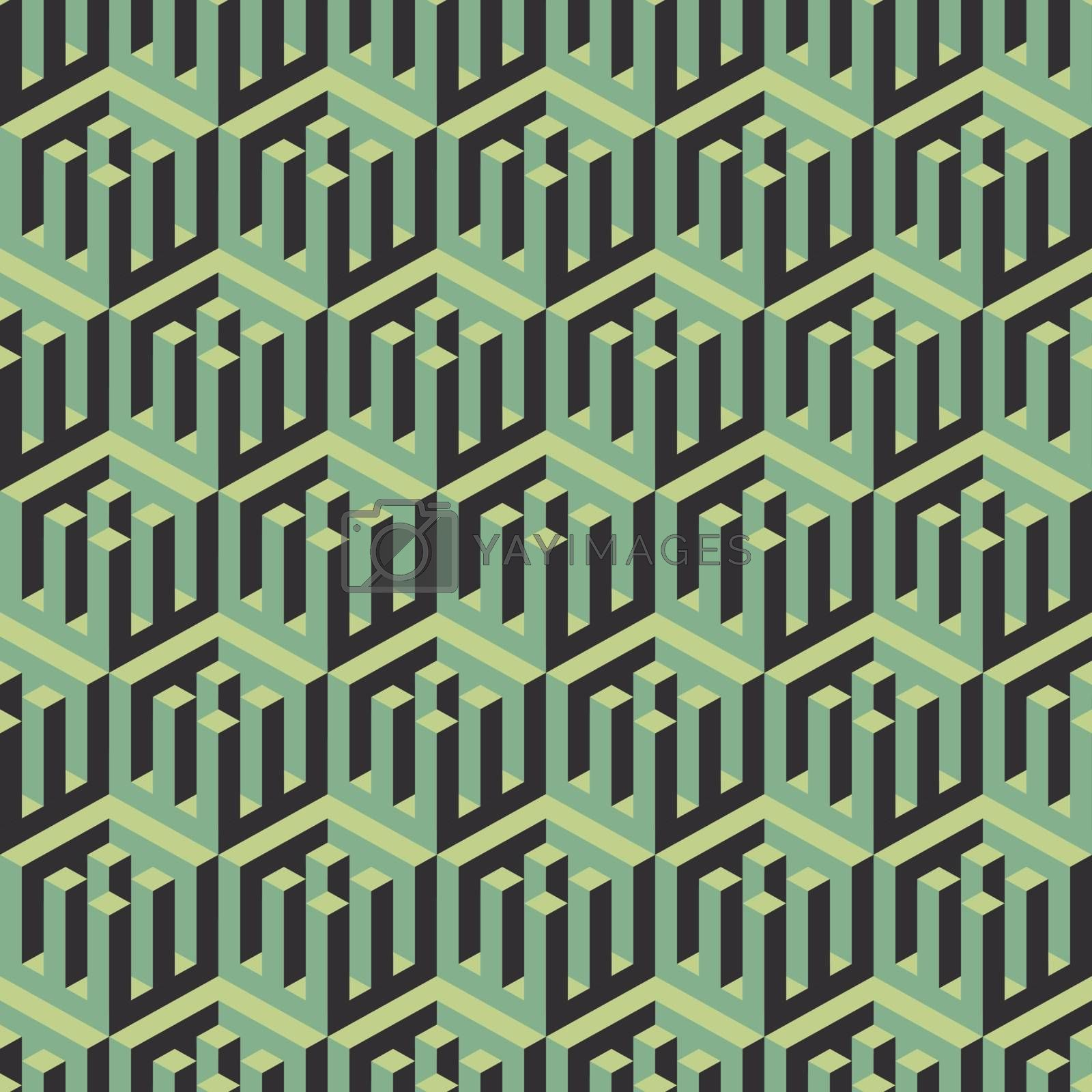 Abstract Geometrical 3d Background. Can Be Used For Wallpaper, Web Page Background.