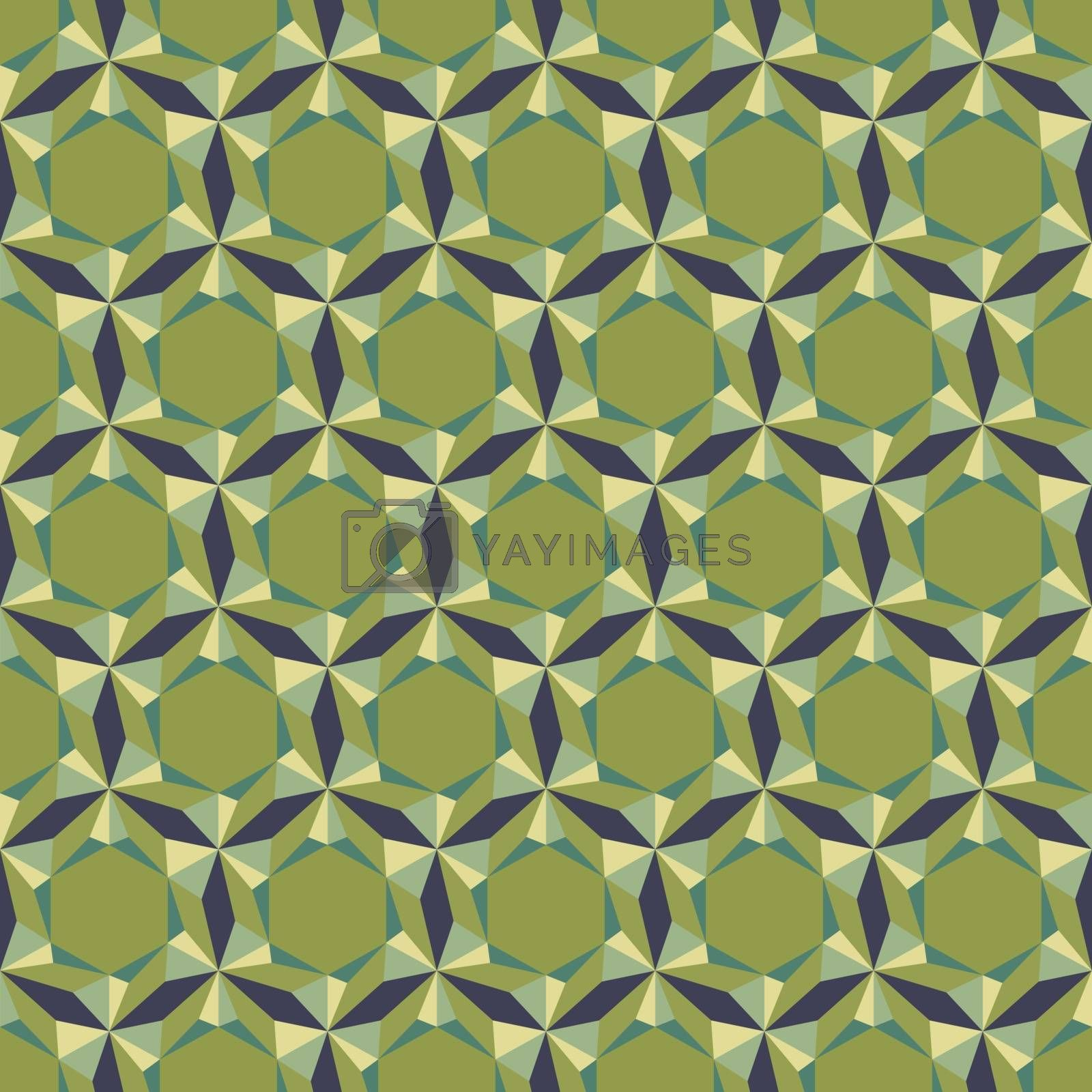 Abstract Seamless Background. Mosaic. Vector Illustration. Can Be Used For Wallpaper, Web Page Background, Book Cover.