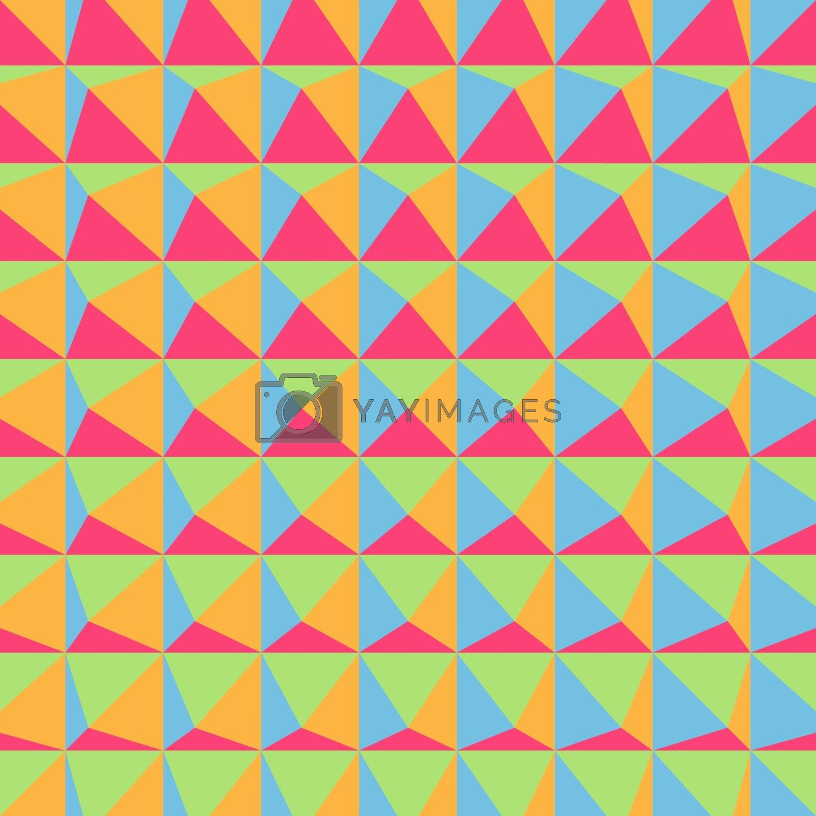 Abstract 3d geometric pattern. Polygonal background. Vector illustration. Can Be Used For Wallpaper, Web Page Background, Book Cover.