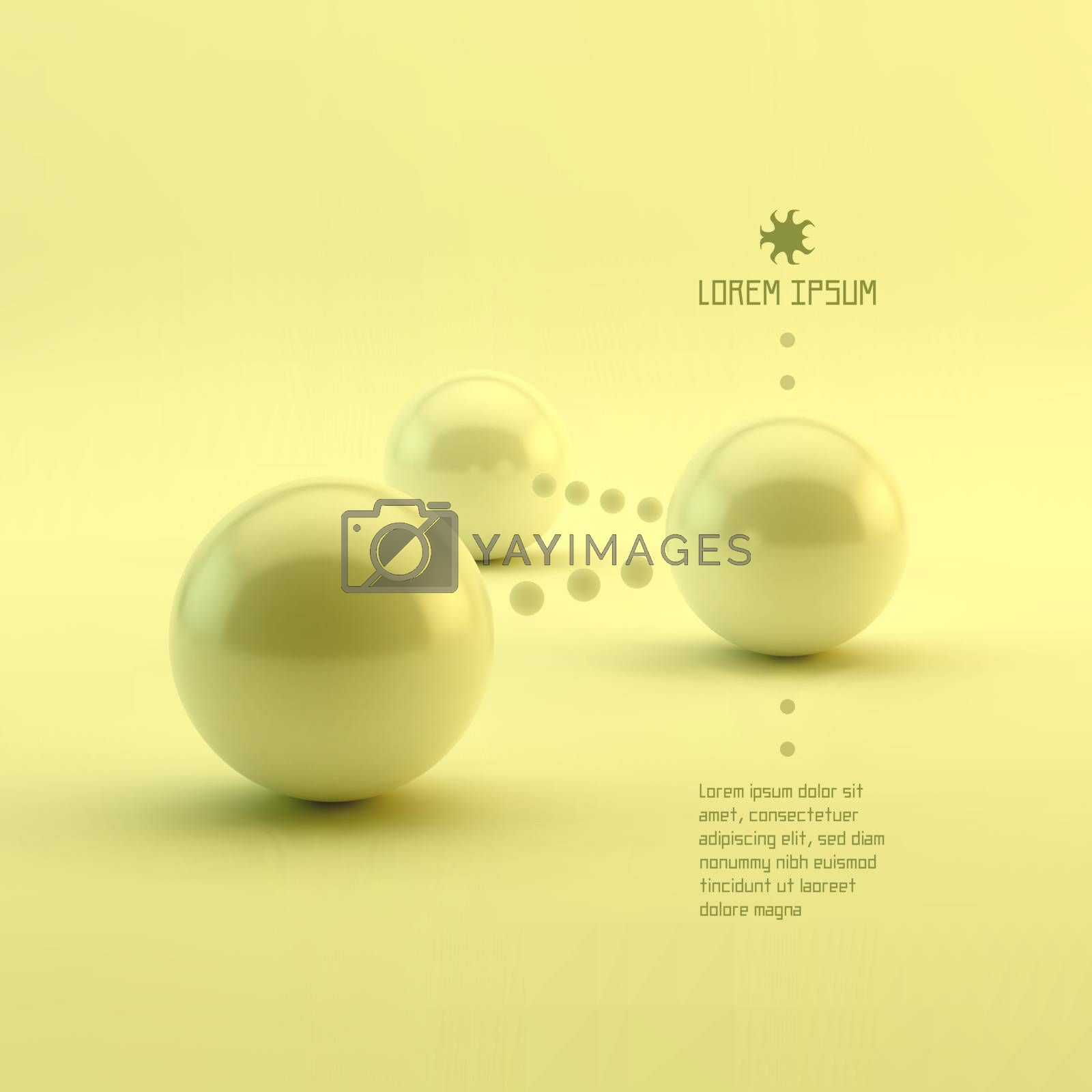 Business 3d Concept Vector Illustration. Can Be Used For Design And Presentation.