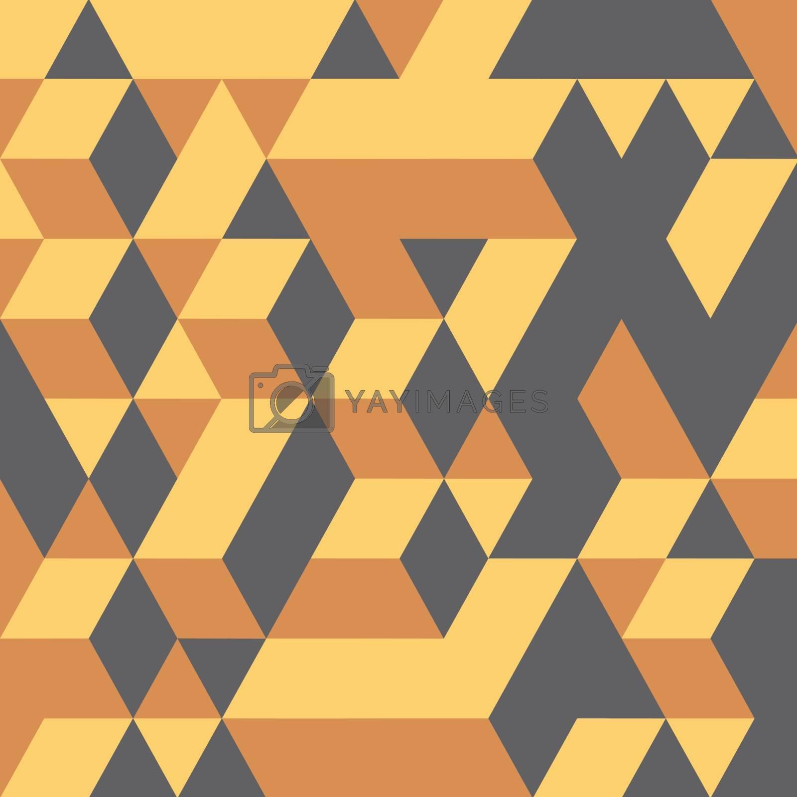 3d blocks structure background. Vector illustration.  by login