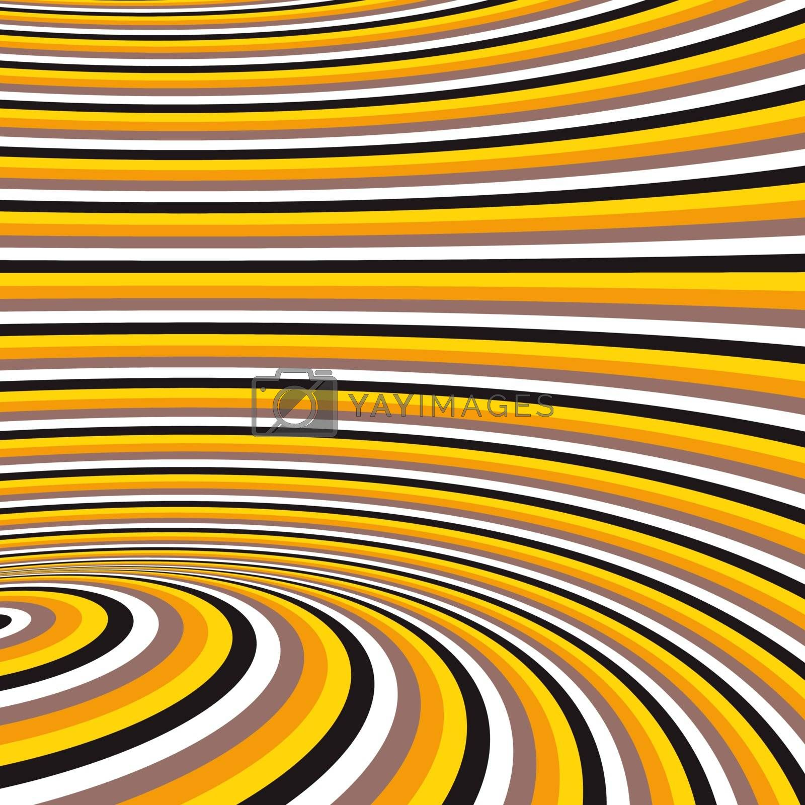 Pattern with optical illusion. Abstract background. Optical art. by login