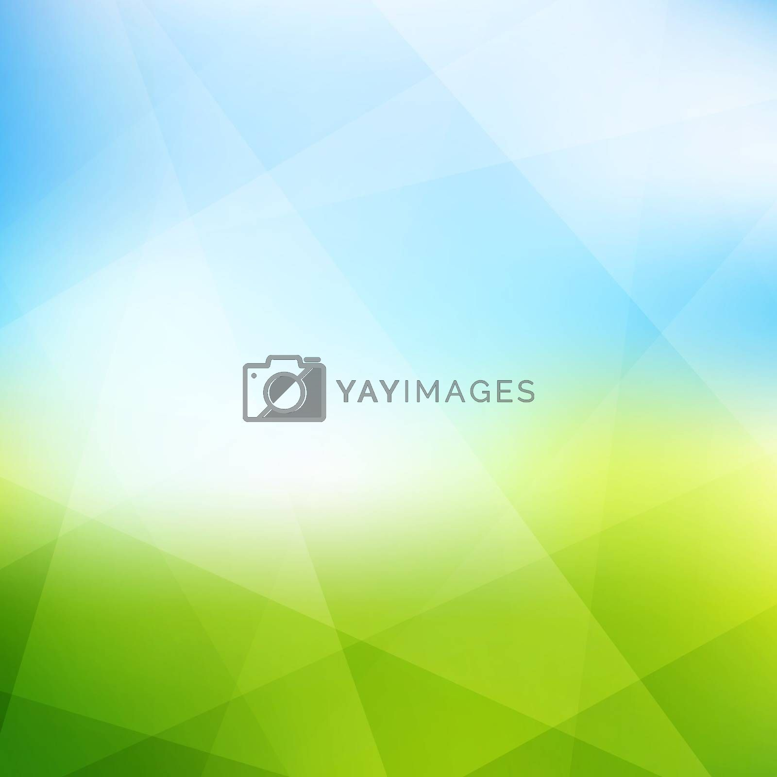 Nature background. Modern pattern. Abstract vector illustration. by login