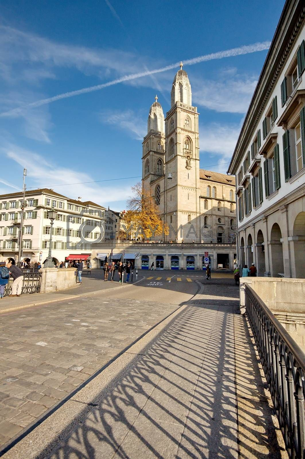Cathedral of Zurich, Switzerland