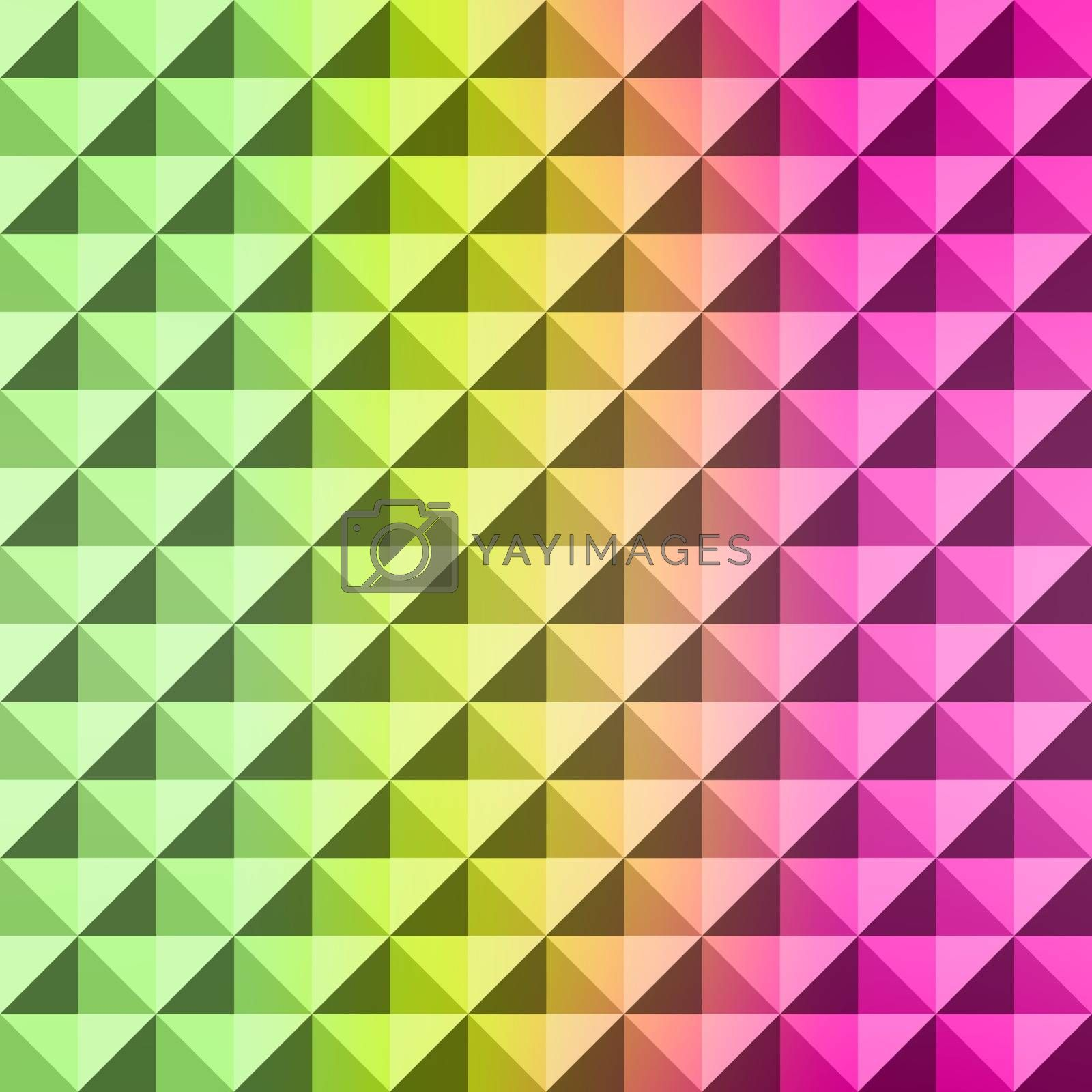 Abstract geometric background. Mosaic. Vector illustration.  by login