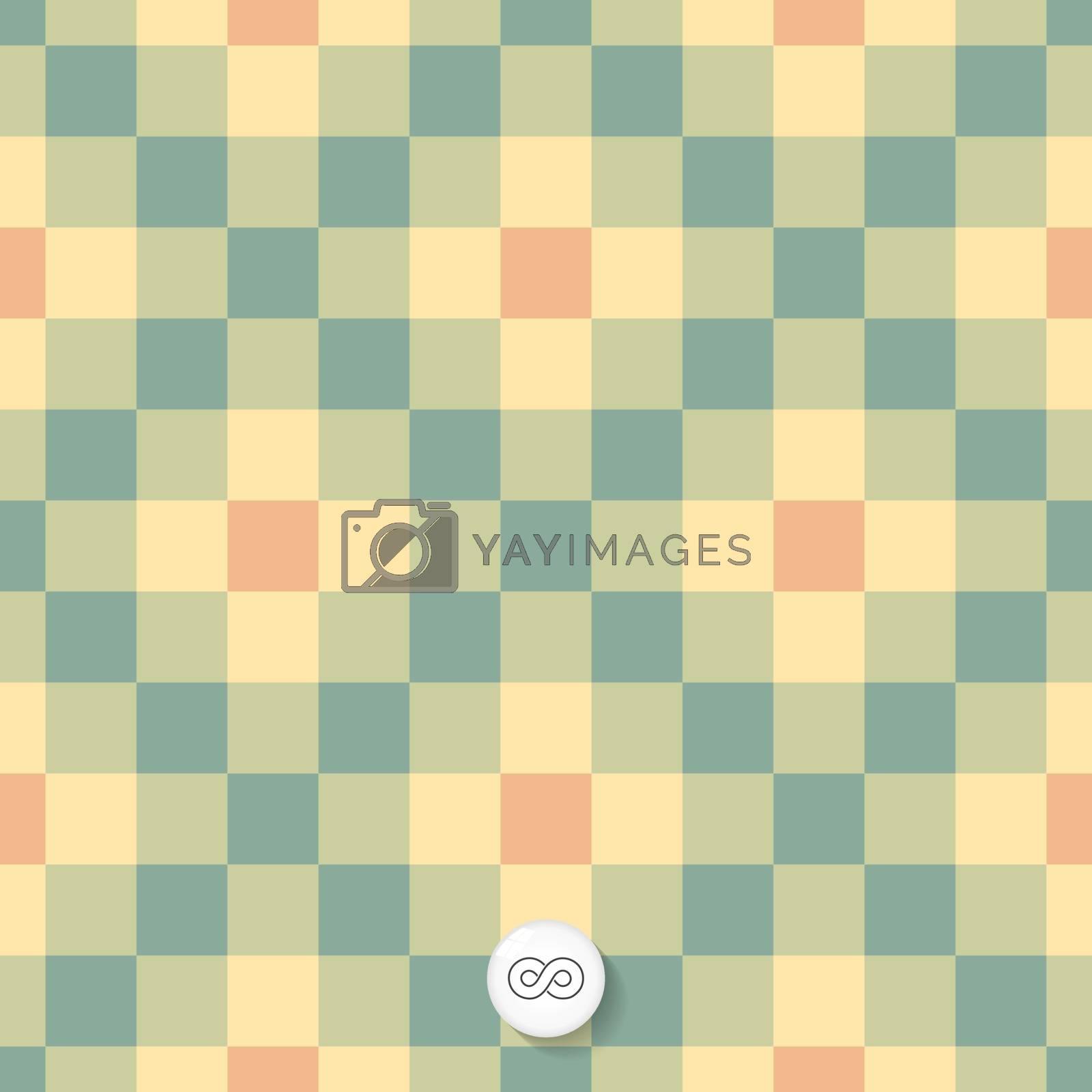 Seamless geometric background. Mosaic.  by login