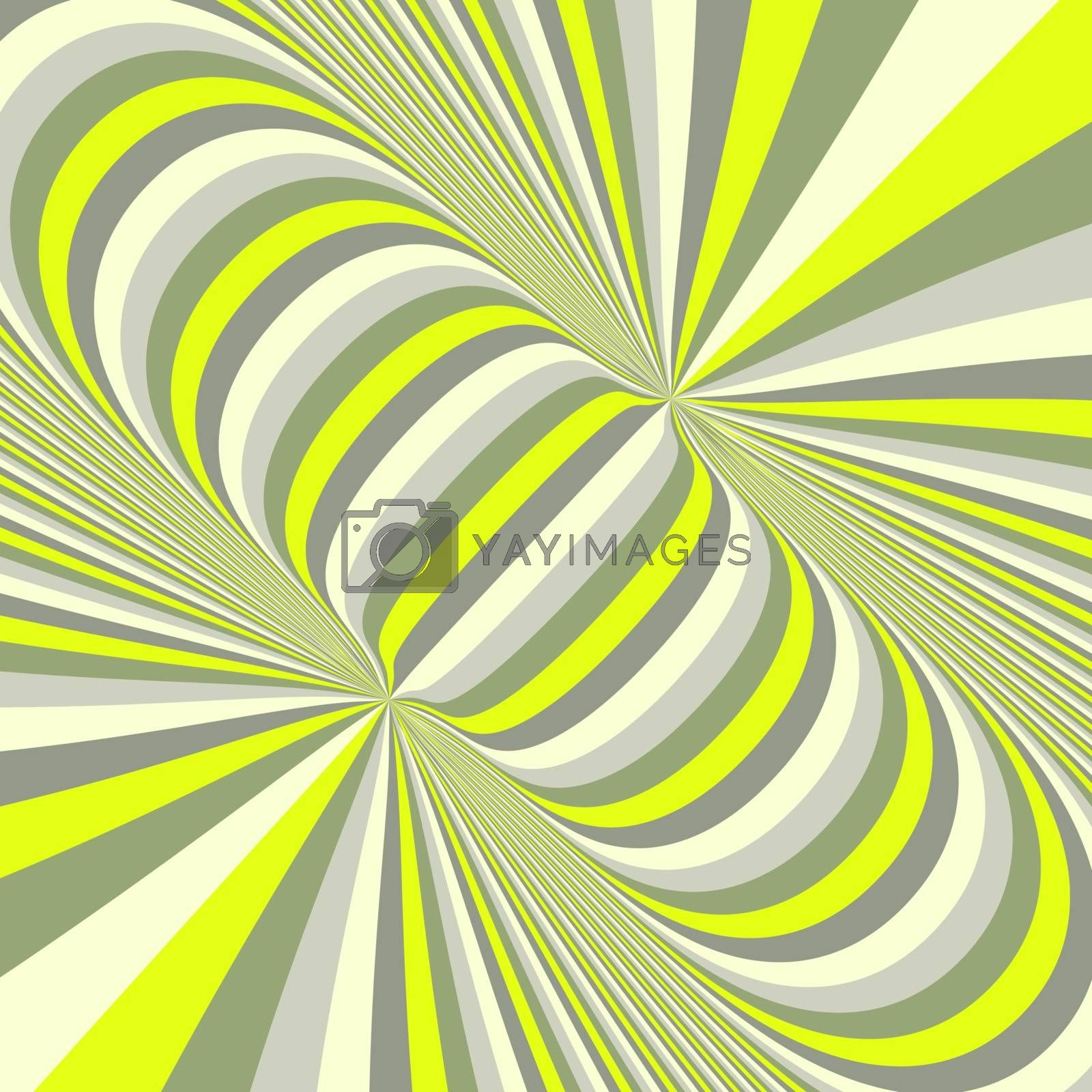 Abstract 3d geometrical background. Pattern with optical illusion. Vector illustration.