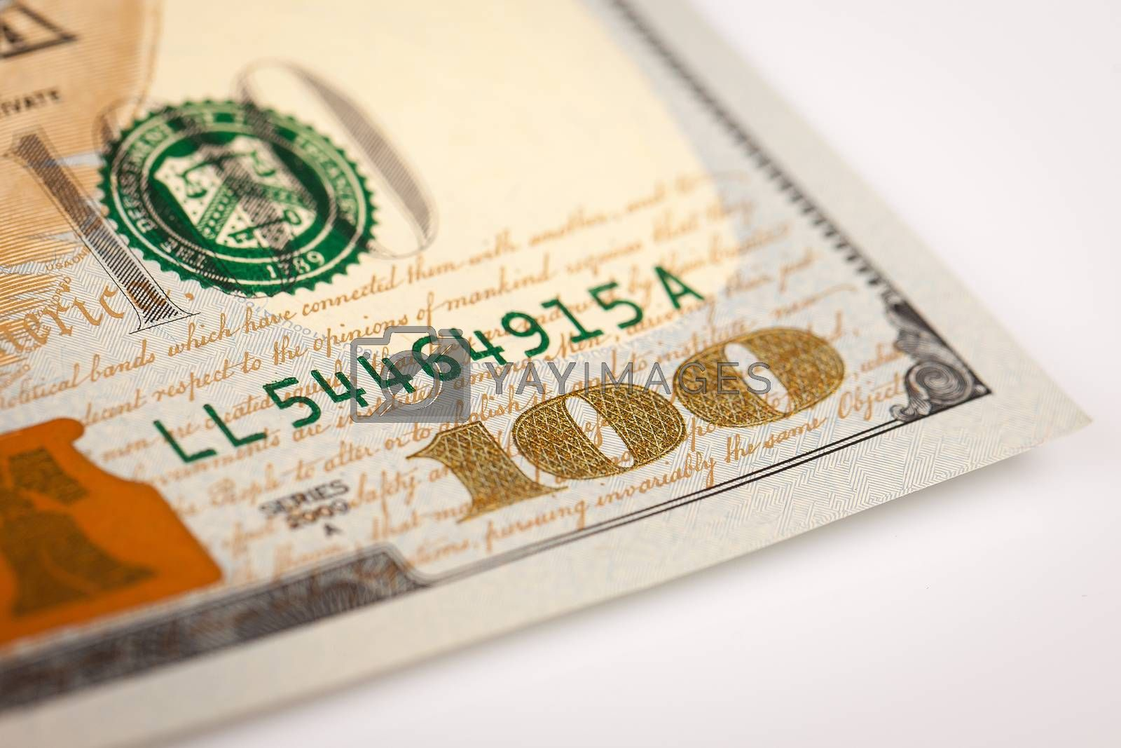 Royalty free image of Dollars by marcoscisetti