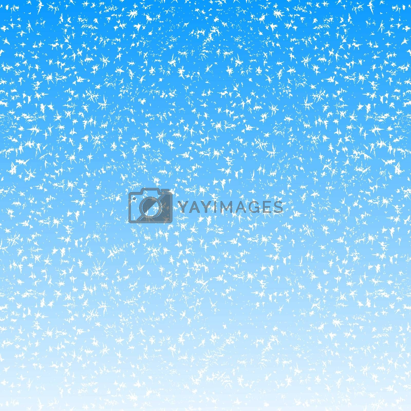 Abstract Christmas background with snowflakes. Vector illustration.