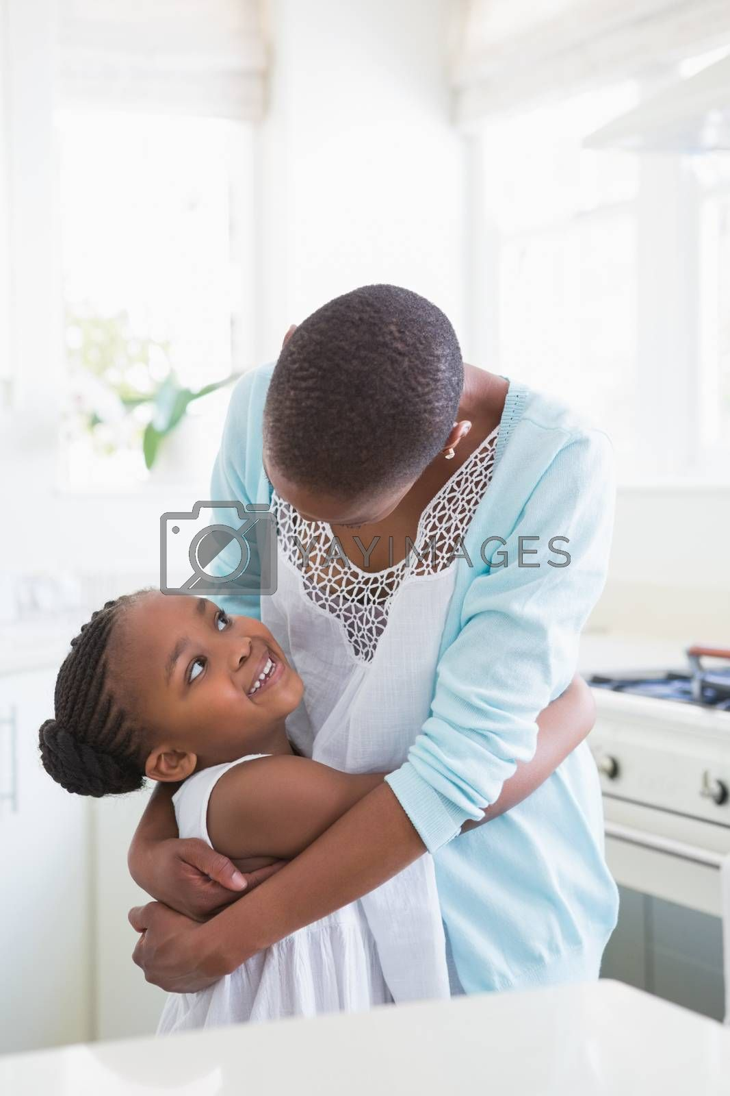 Royalty free image of Smiling mother with her daughter  by Wavebreakmedia