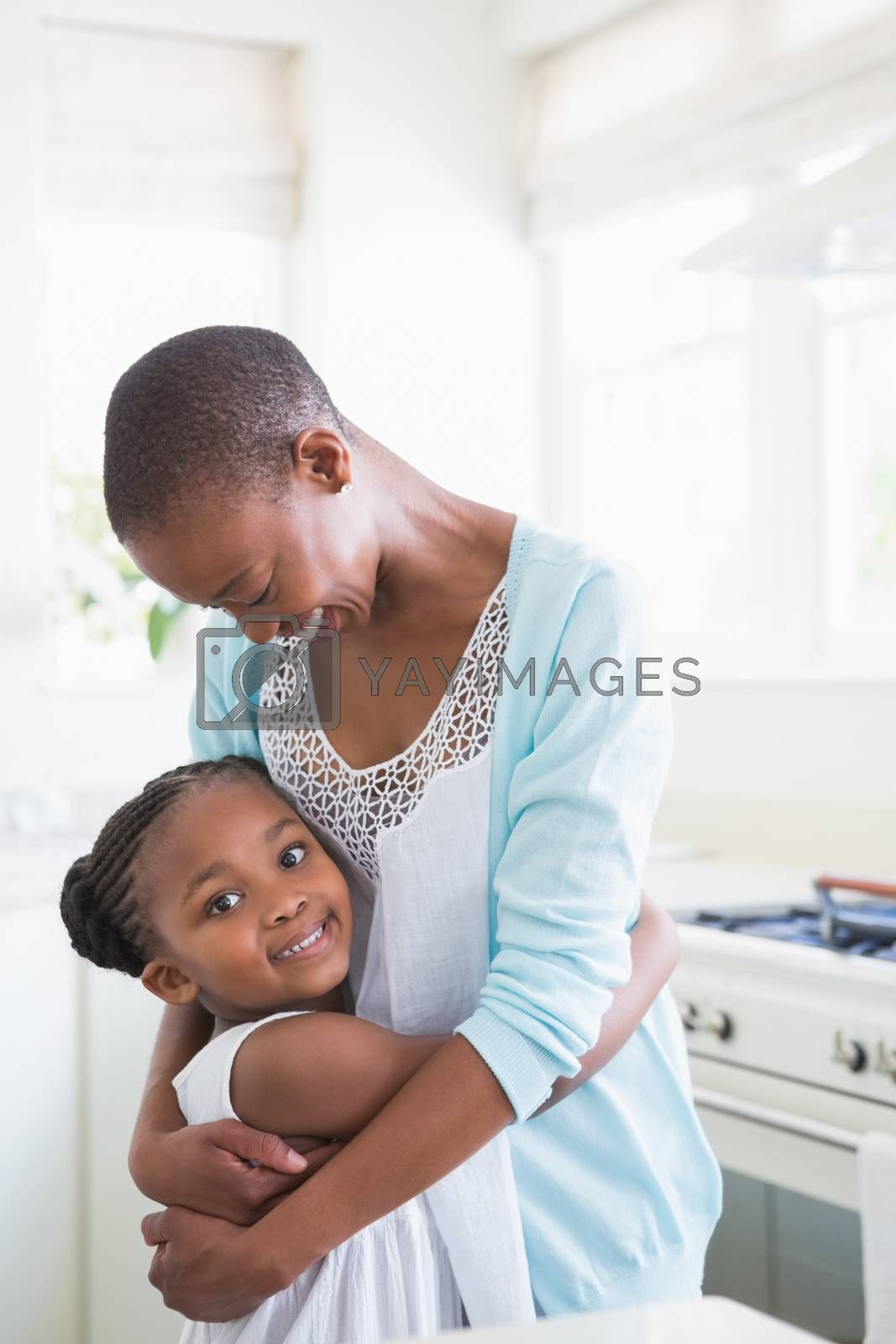 Royalty free image of A mother with her daughter  by Wavebreakmedia