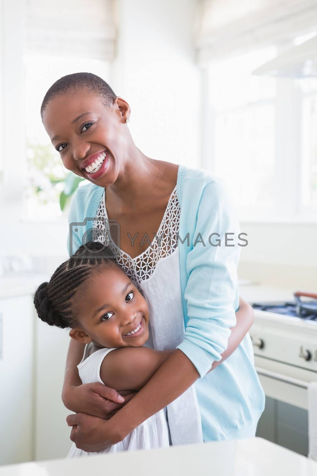 Royalty free image of Portrait of a mother with her daughter  by Wavebreakmedia