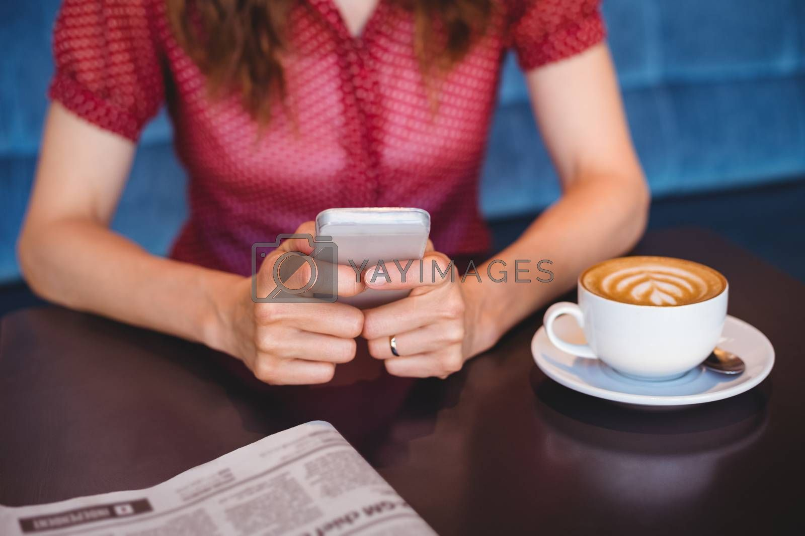 Royalty free image of close up view of a table  by Wavebreakmedia