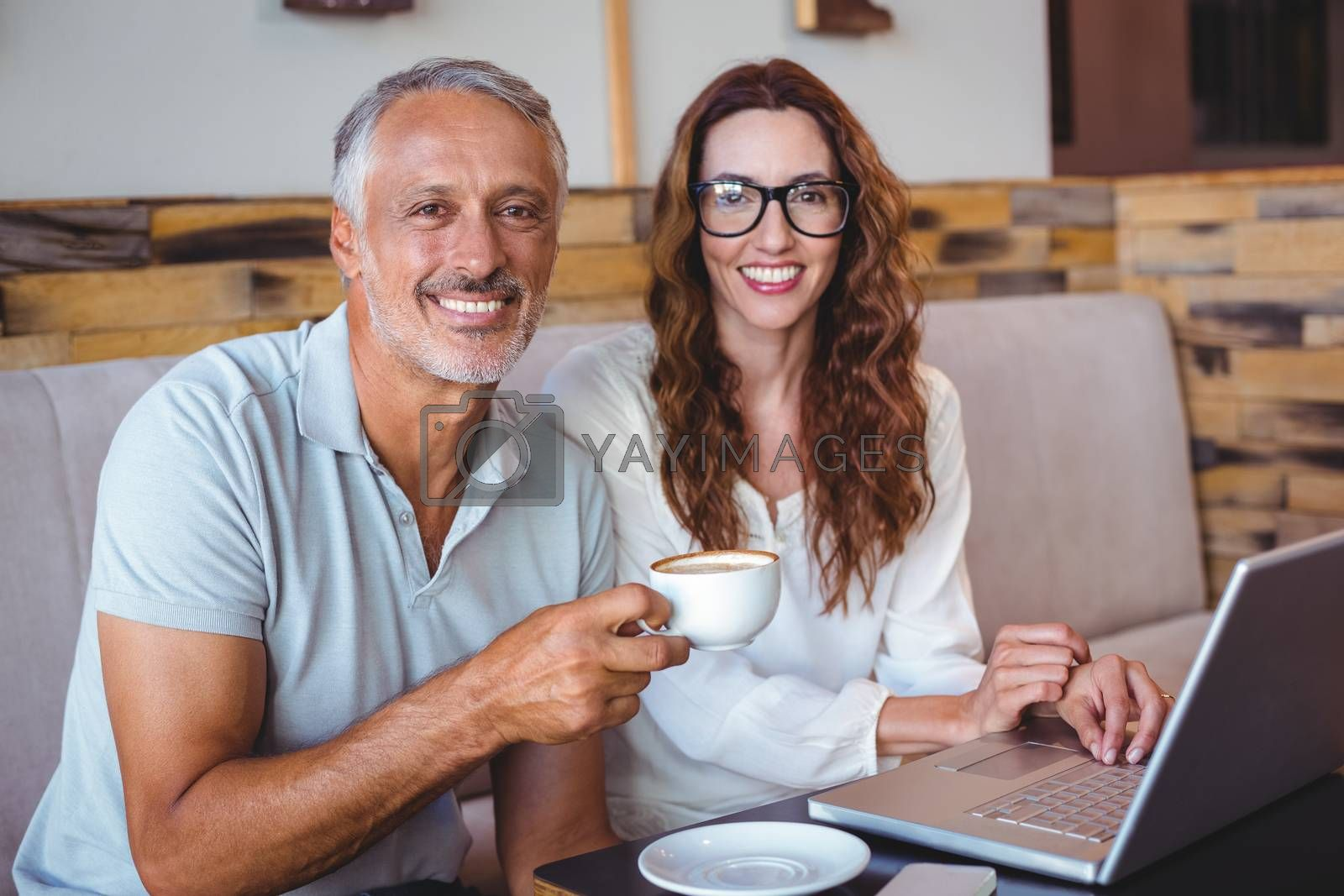 Royalty free image of casual business people working by Wavebreakmedia