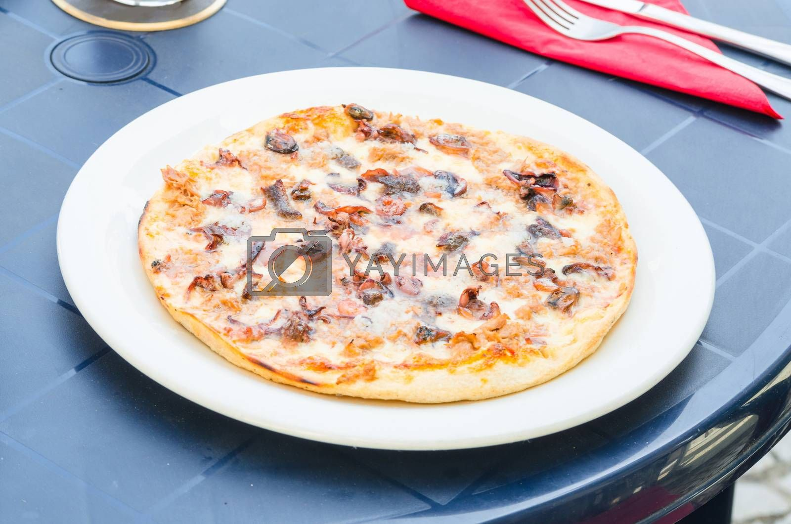 Royalty free image of Pizza Frutti di mare             by JFsPic