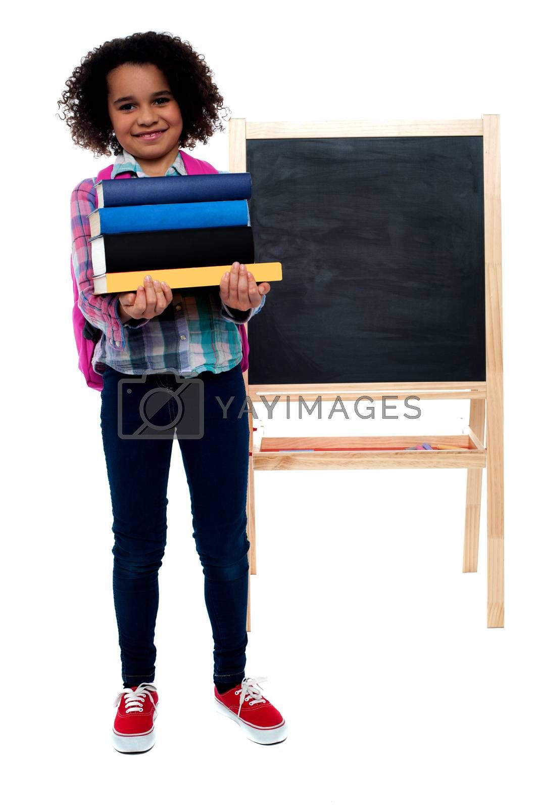 My first day at school.  by stockyimages