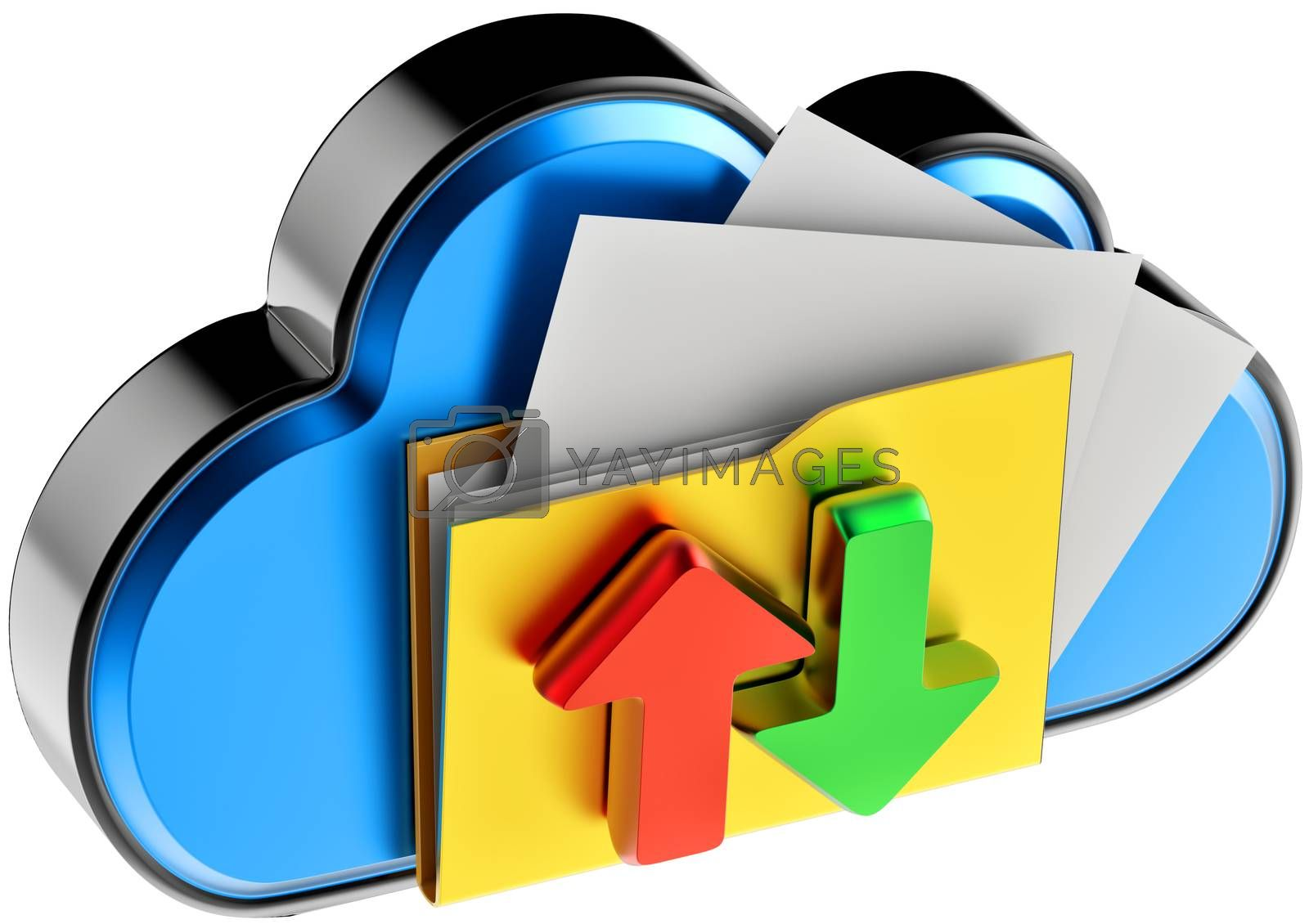 cloud computing and circulation digital documents by merzavka