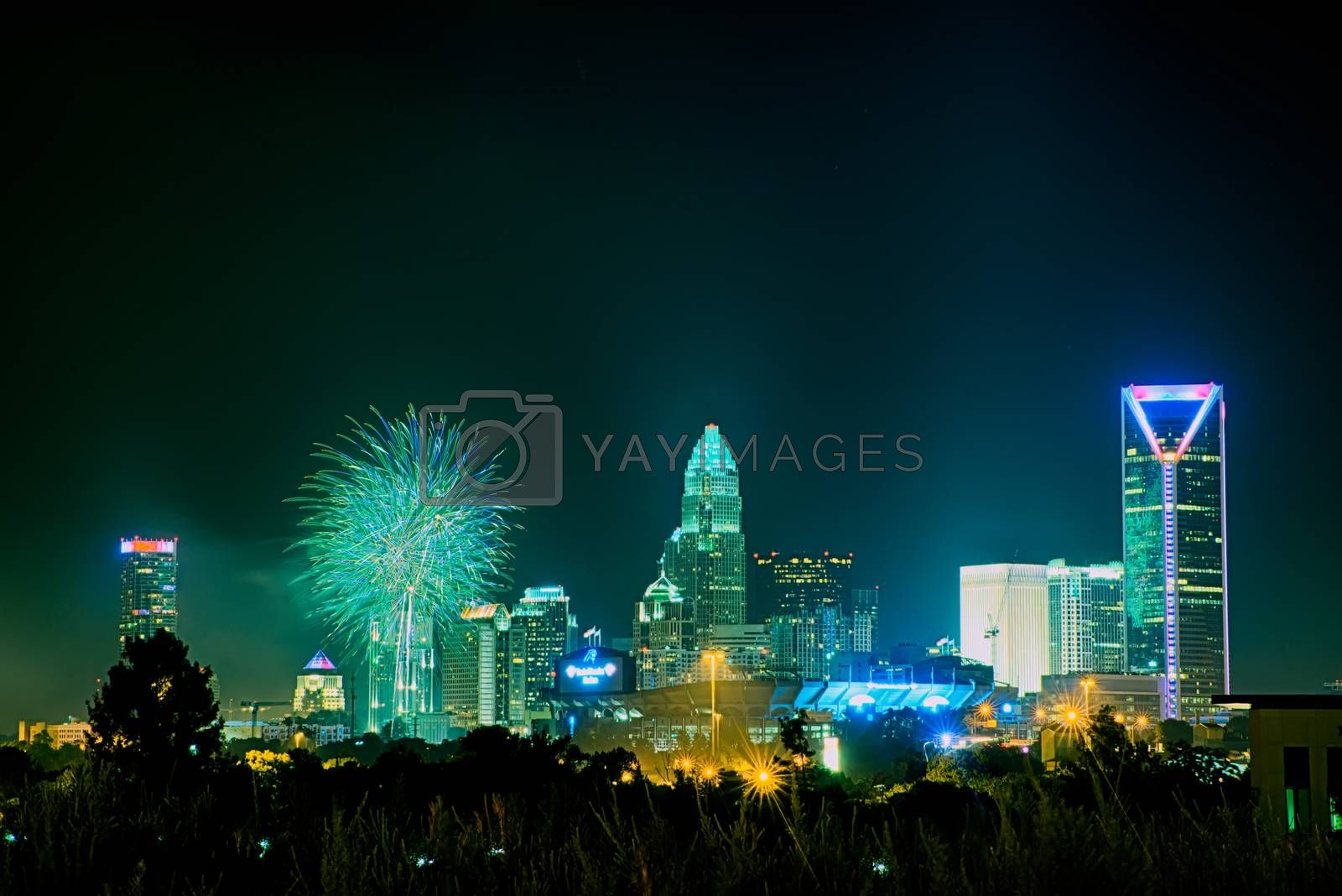 4th of july fireworks skyshow charlotte nc