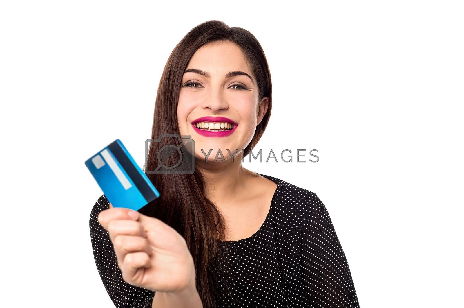 I got my new credit card ! by stockyimages
