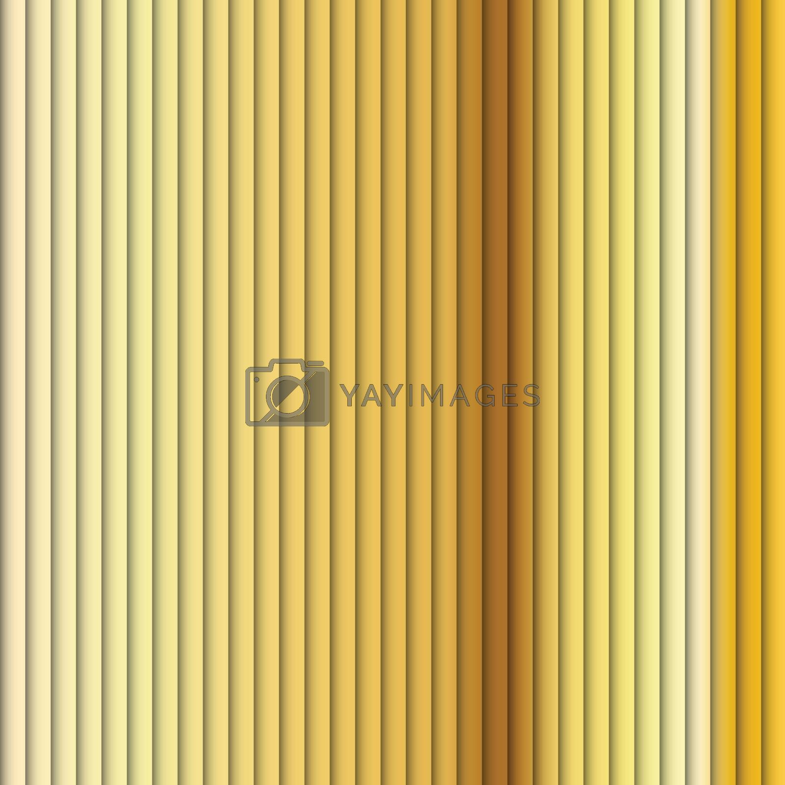 Vector - Seamless Background Pattern Brown Stripe Yellow