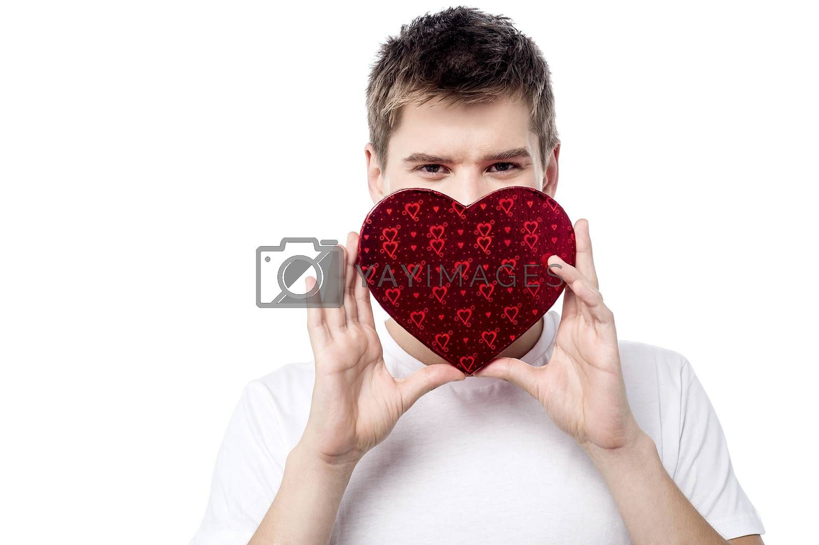Royalty free image of My valentine gift to my dear! by stockyimages