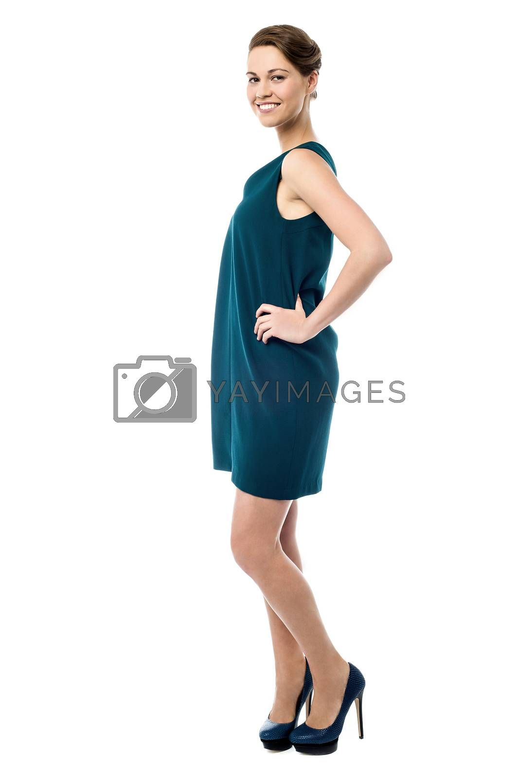 Royalty free image of Do you like my new wear ? by stockyimages