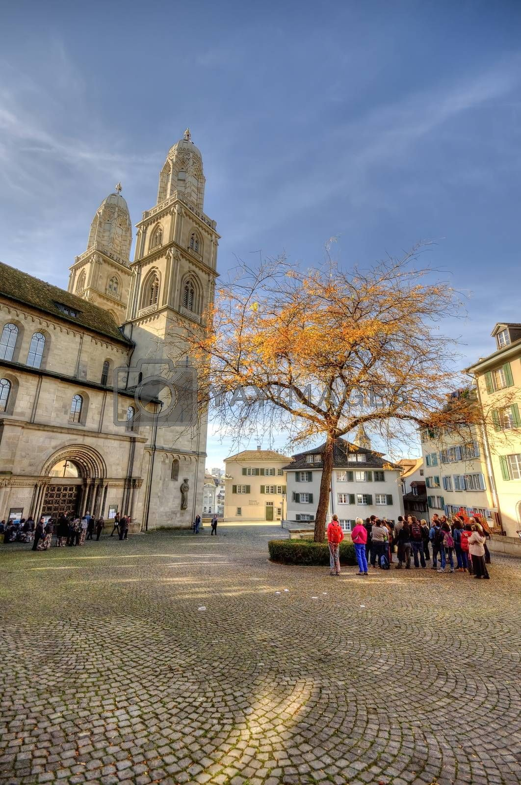 Royalty free image of Cathedral of Zurich, Switzerland by anderm