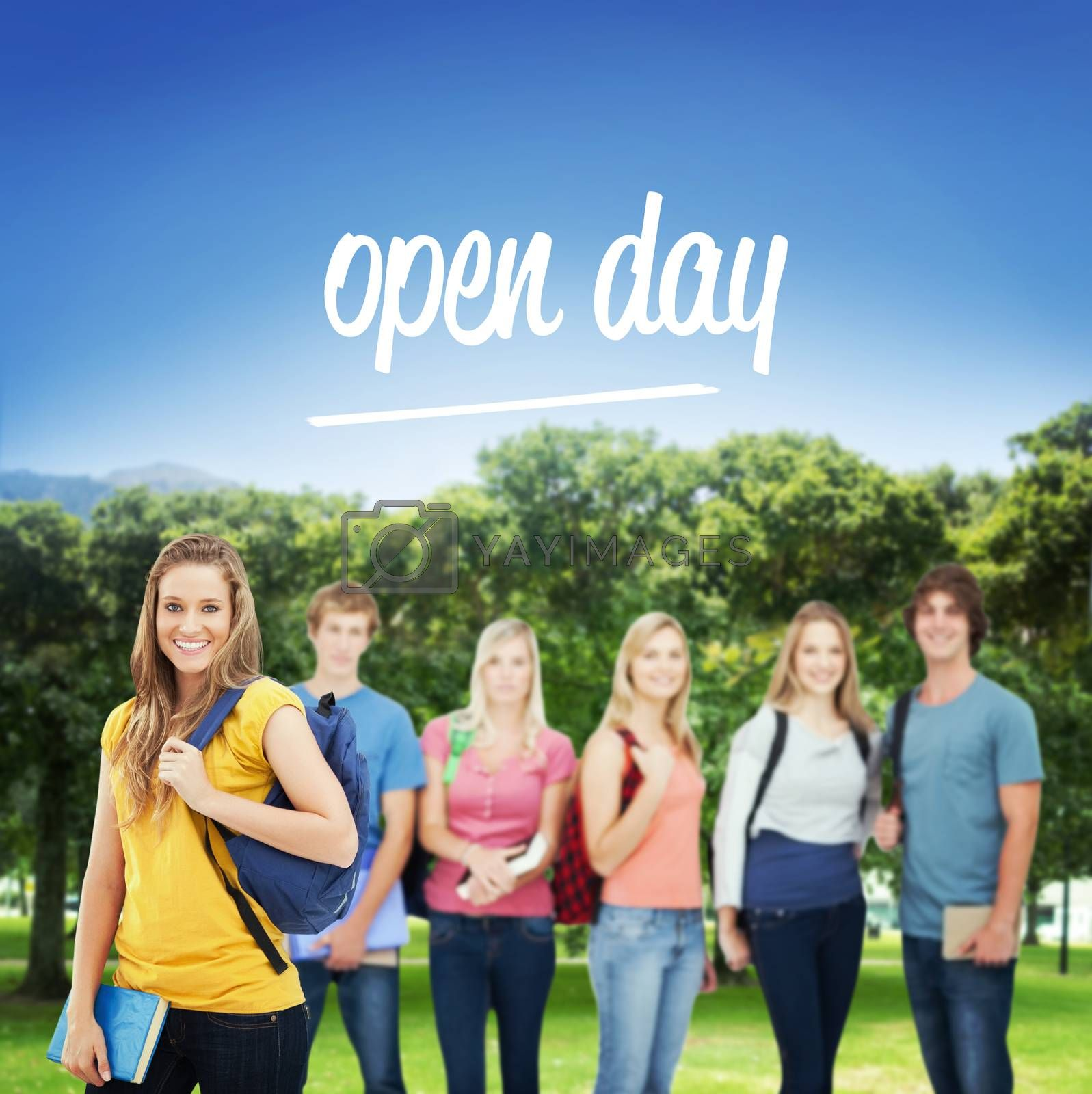 Open day against park by Wavebreakmedia