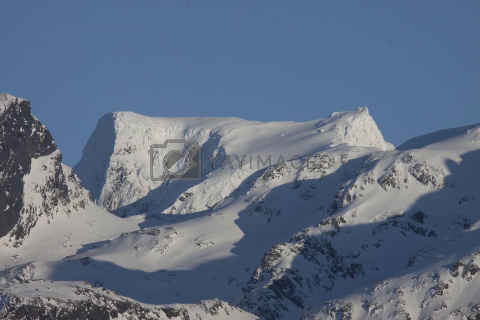 Snedekte Møysalen Lofoten og Vesteråelens høyeste fjell