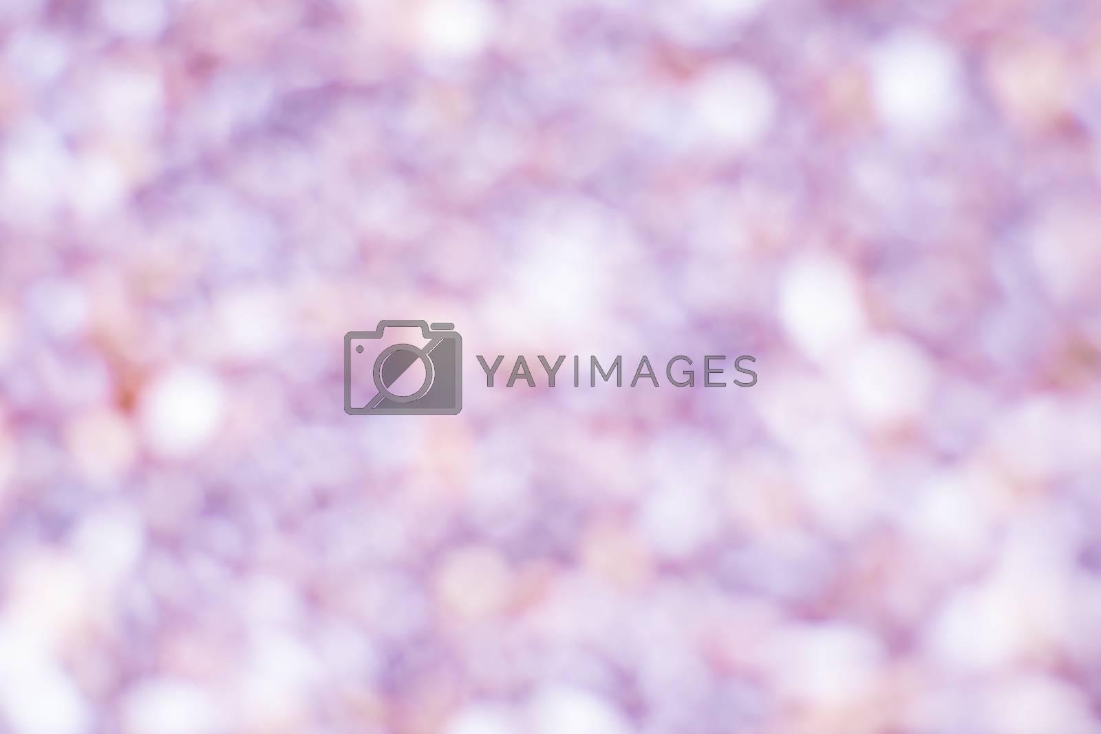 Pink white Bokeh background