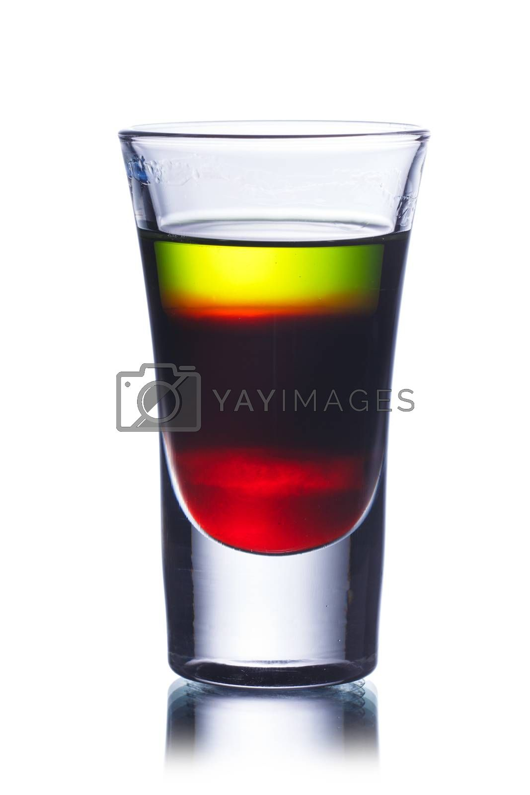 Royalty free image of Shot drink by maxsol