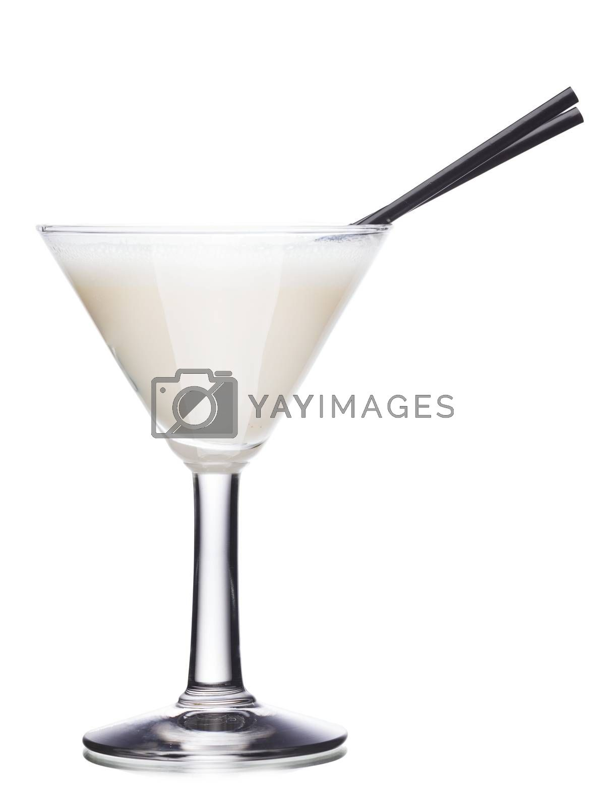 Royalty free image of Milk cocktail by maxsol