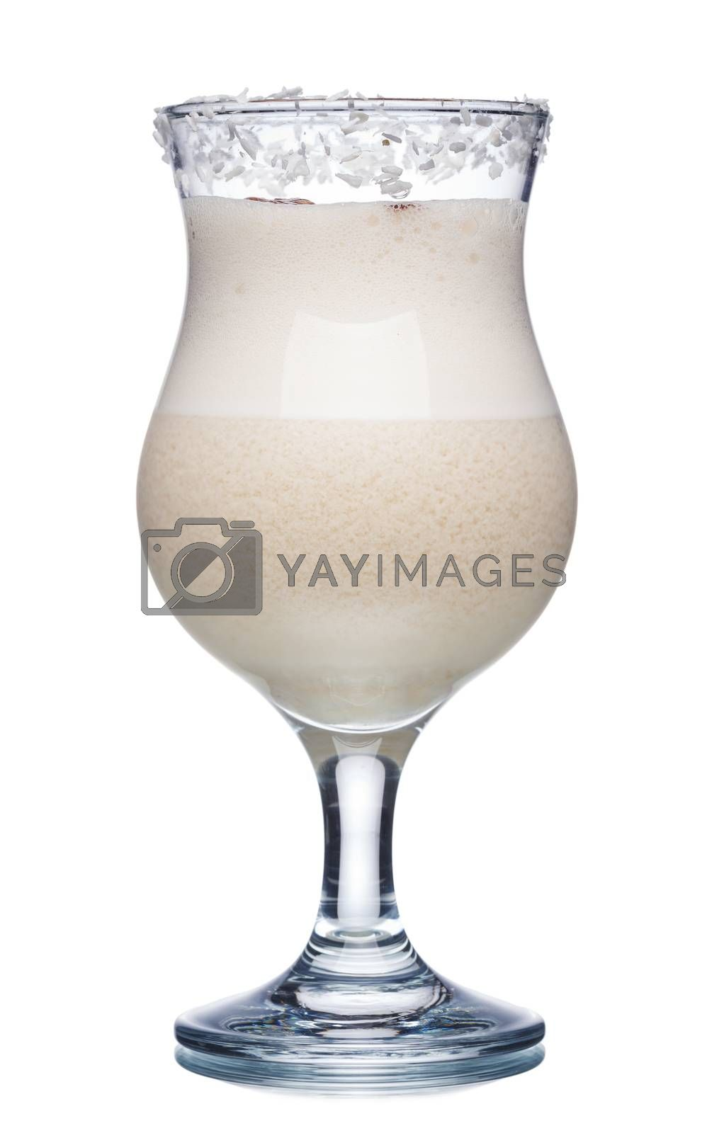 Royalty free image of Coconut milk cocktail by maxsol