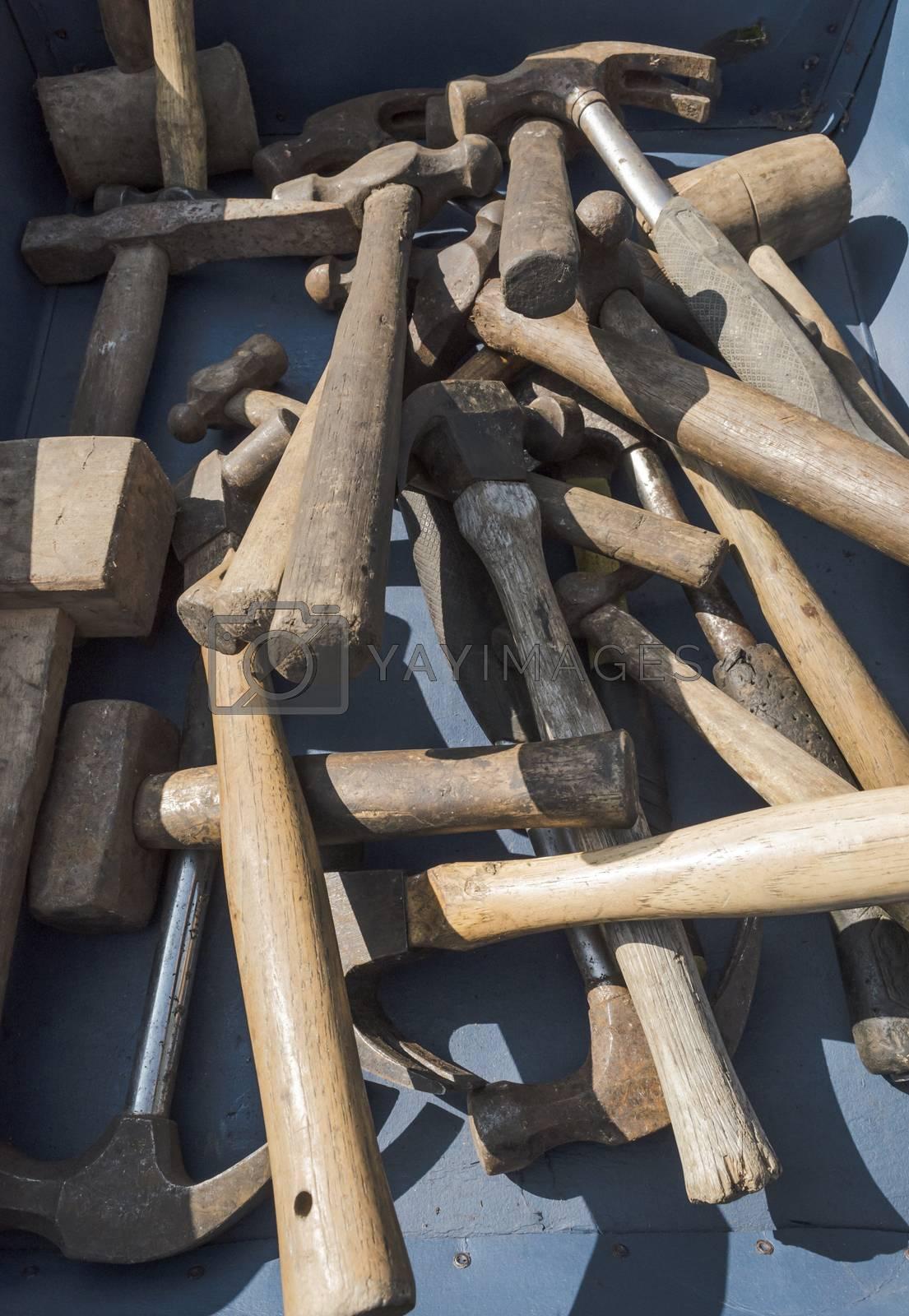 Old hammers by JohnDavidPhoto