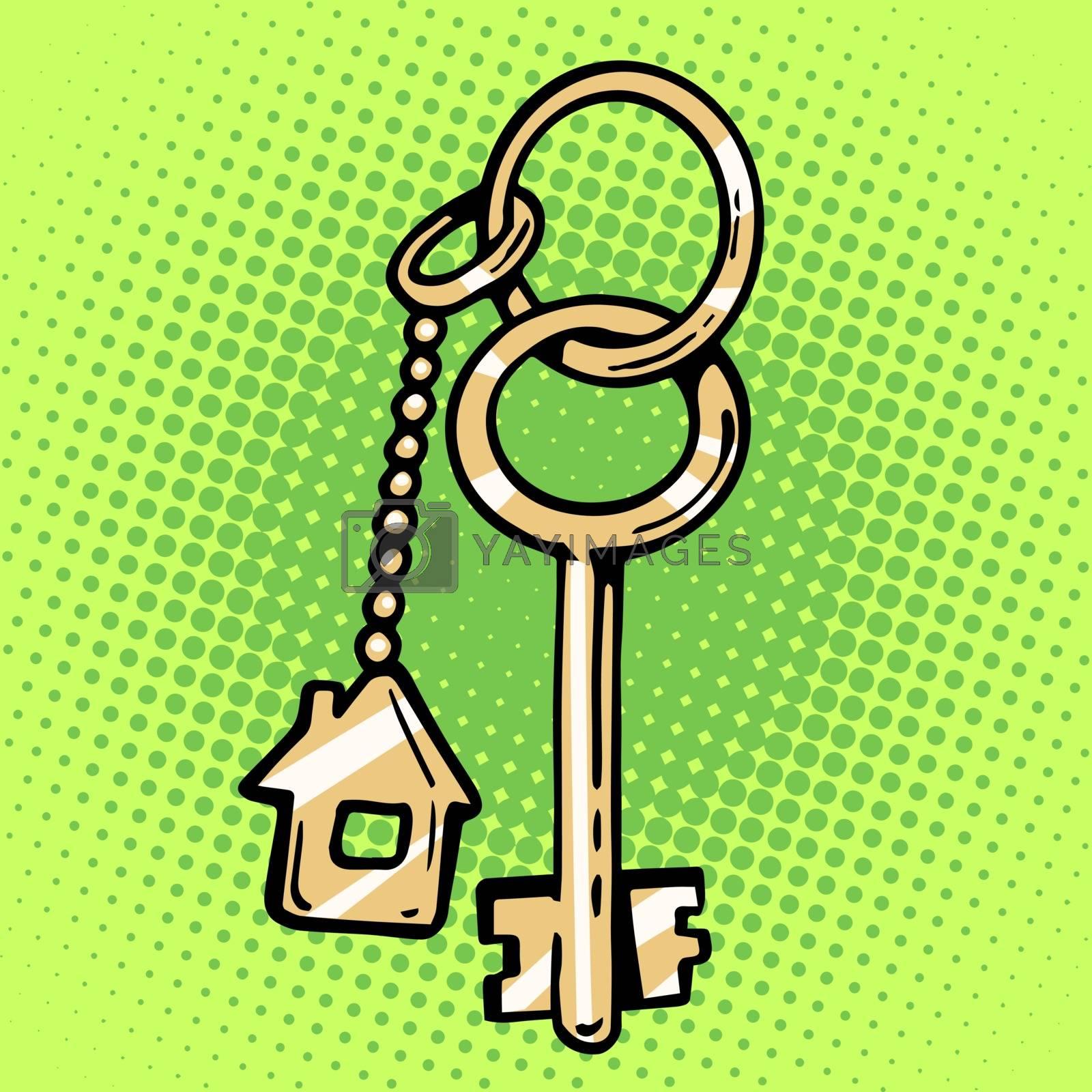 keychain house keys by studiostoks
