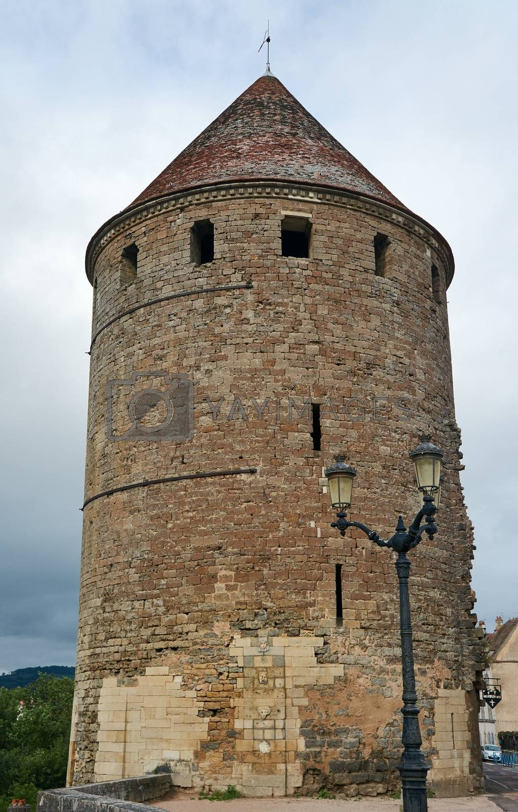 Royalty free image of Medieval tower by gkordus