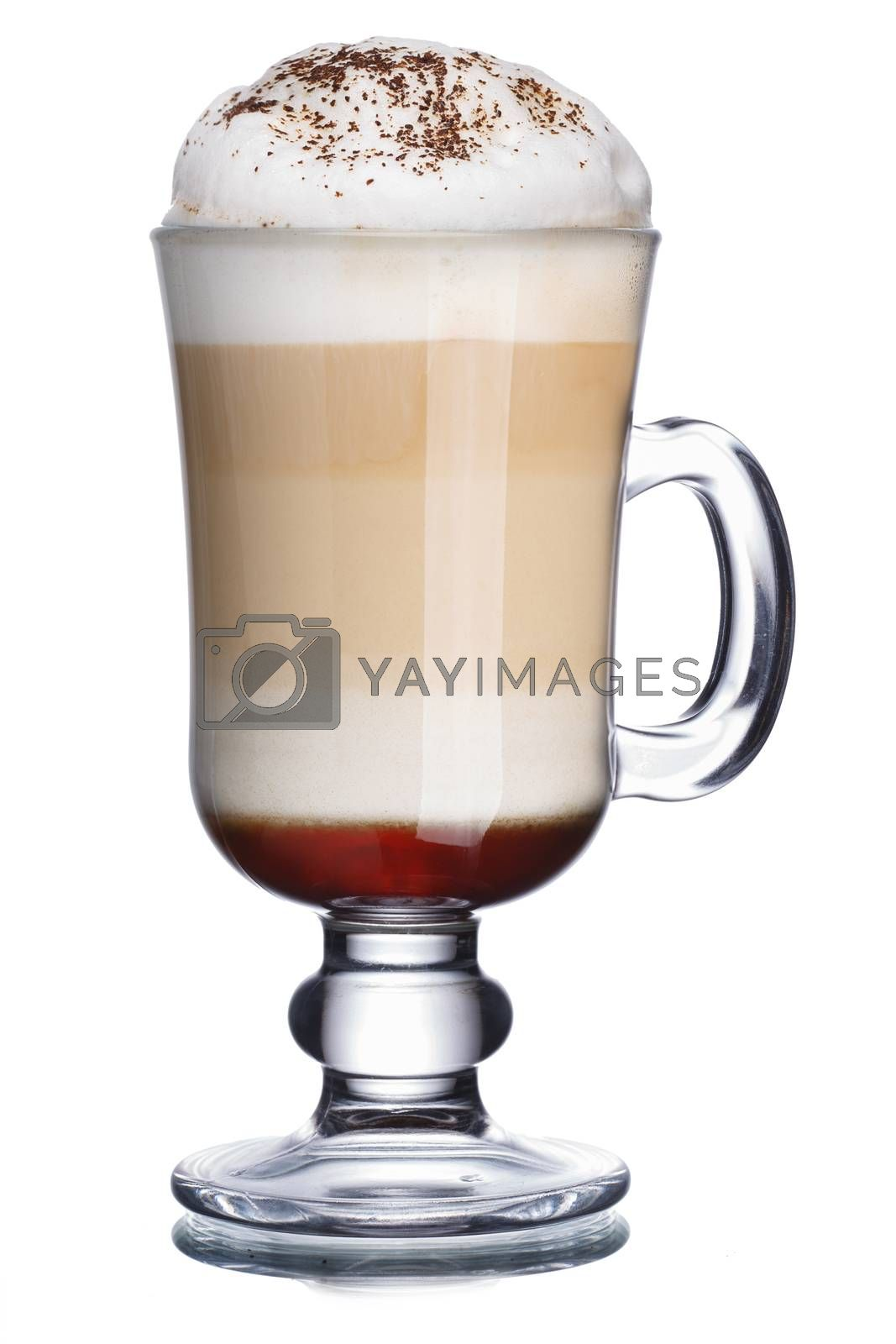 Royalty free image of Coffee cocktail by maxsol