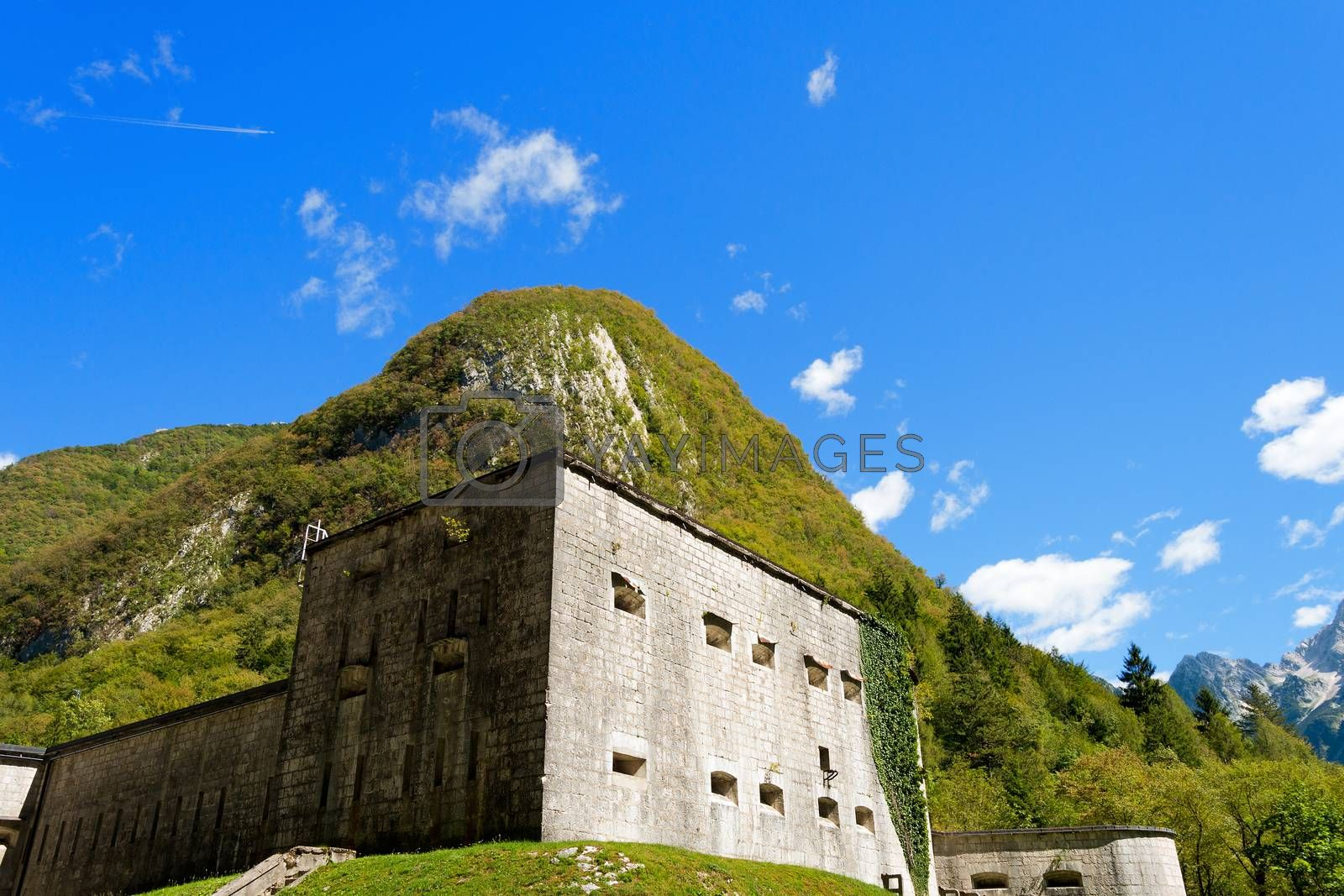 Fort Kluze First World War - Slovenia by catalby