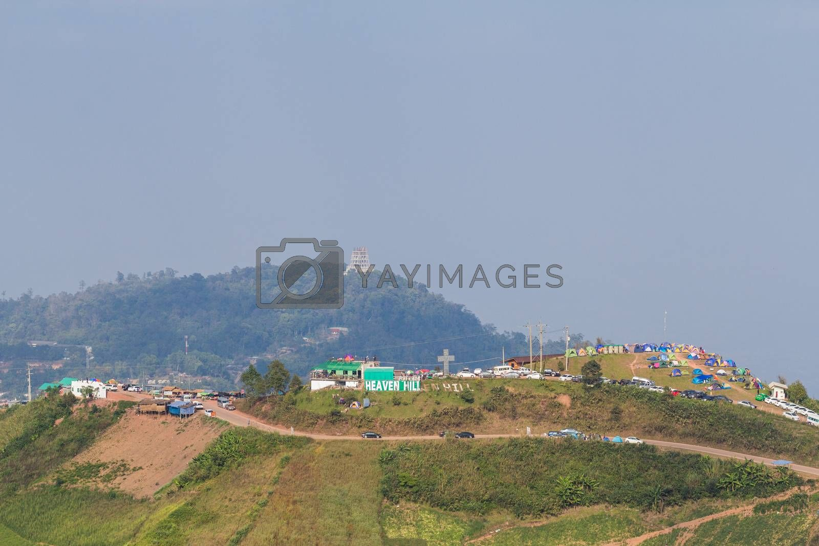Royalty free image of Landscape at Khaoko, Phetchapun, Thailand by kritsada1992