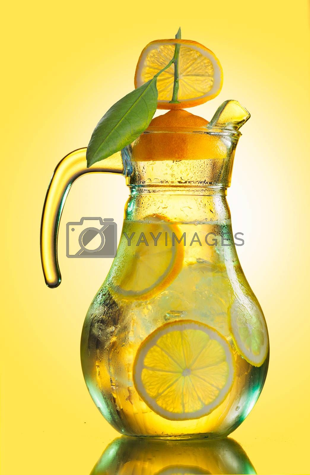 Royalty free image of Lemonade pitcher by maxsol