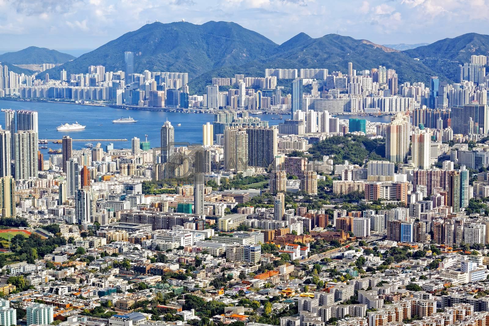 Royalty free image of Hong Kong by cozyta