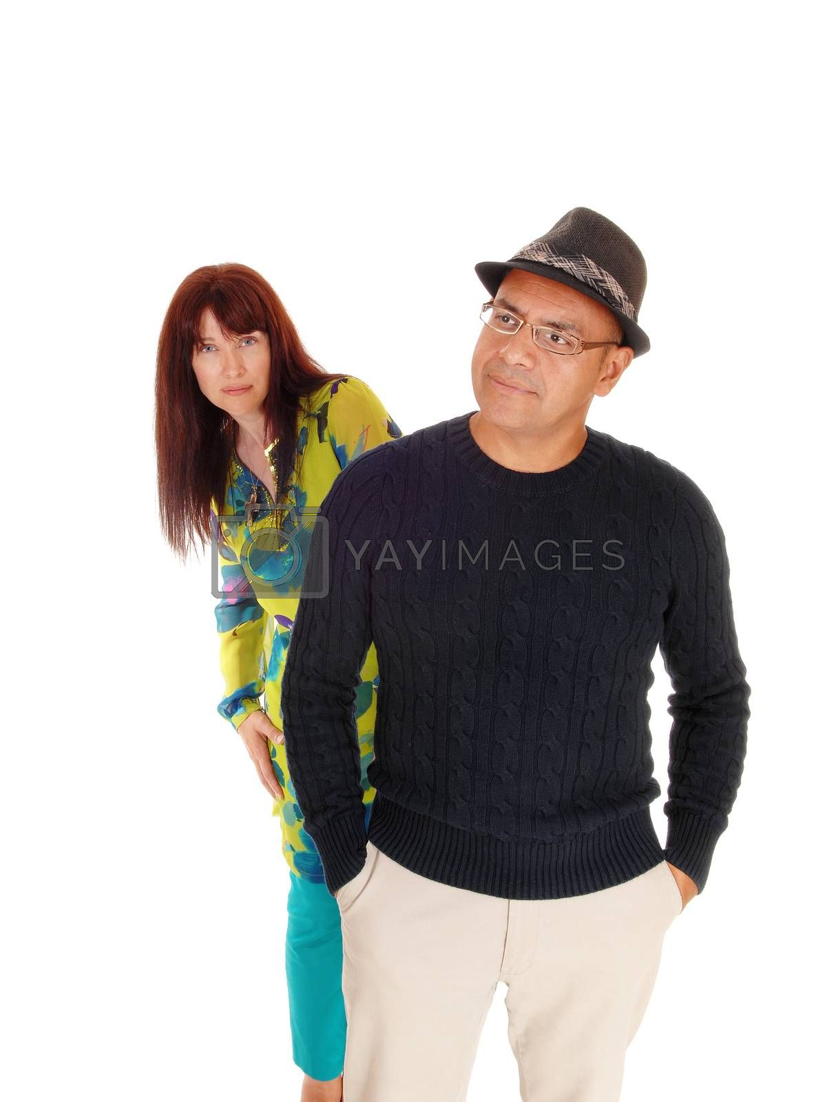 Royalty free image of Lovely middle age couple standing. by feierabend